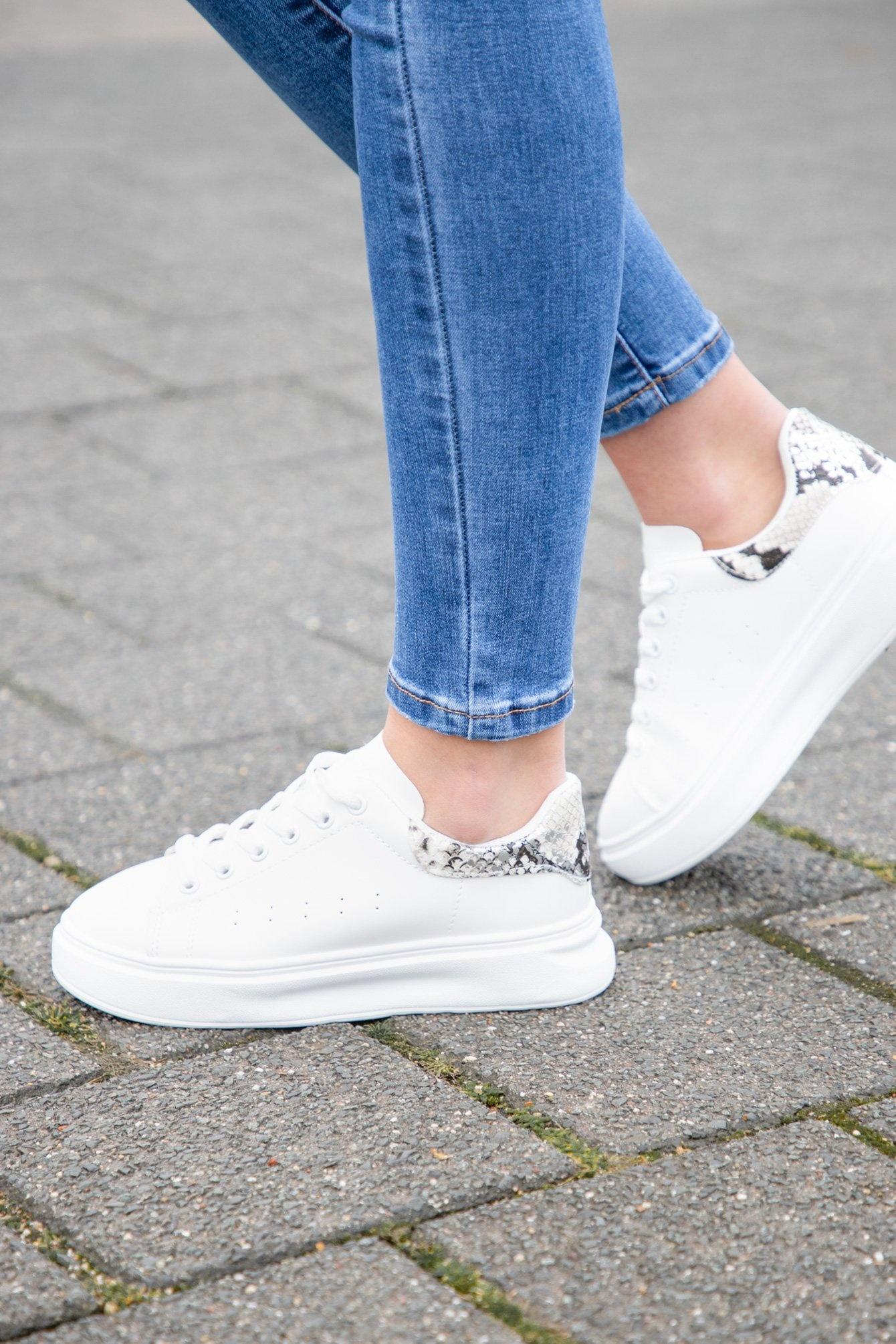 Sneaker Chloe snake