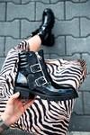 Biker boots Robin lak