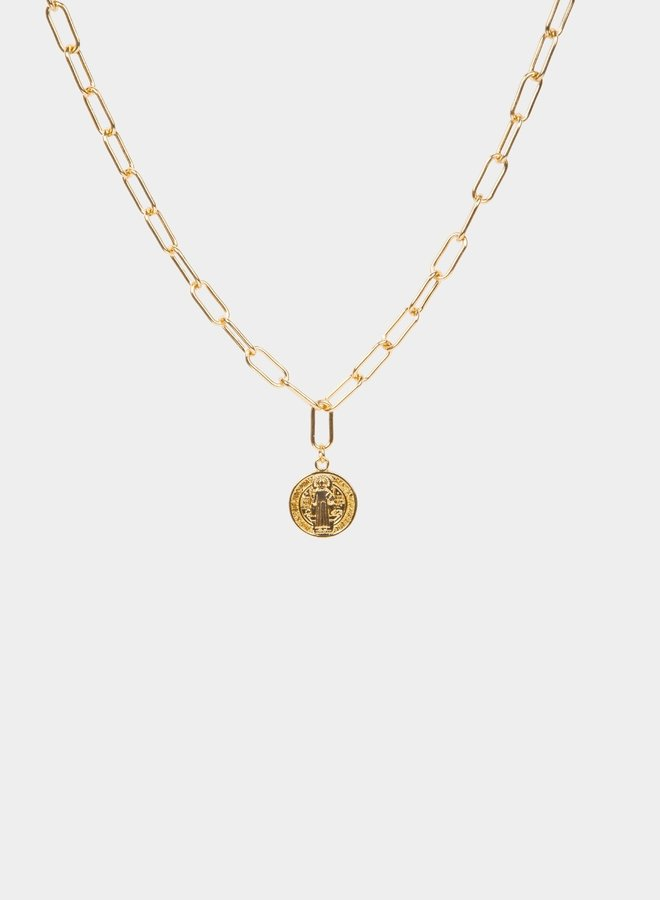 Chain coin gold