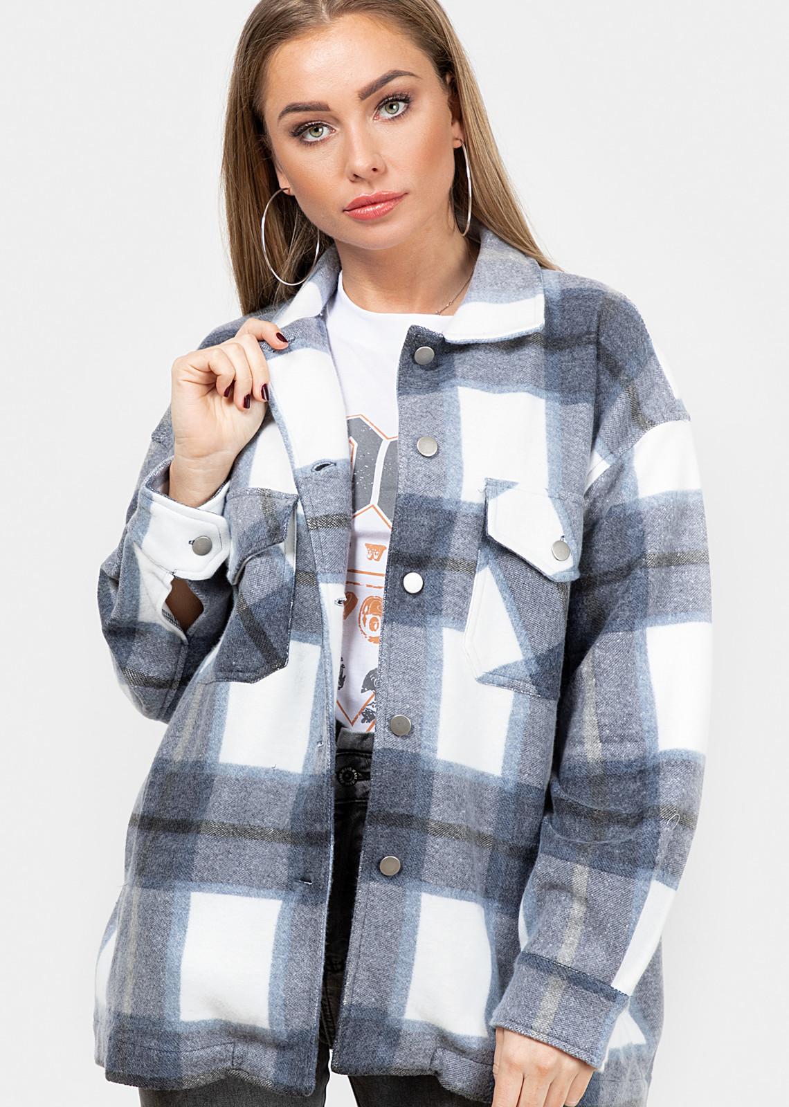 Tartan blouse Clair