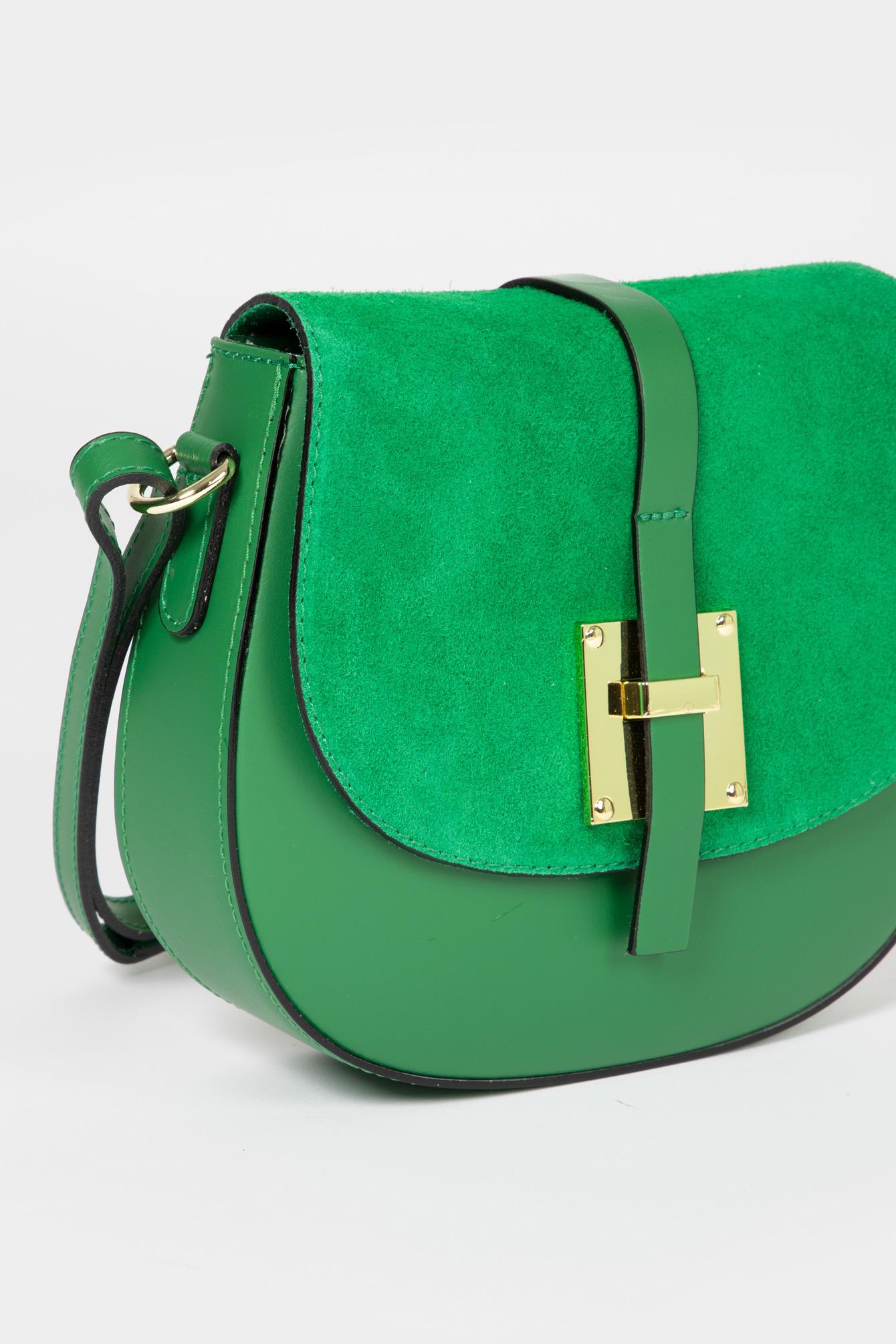 Schoudertas fancy groen