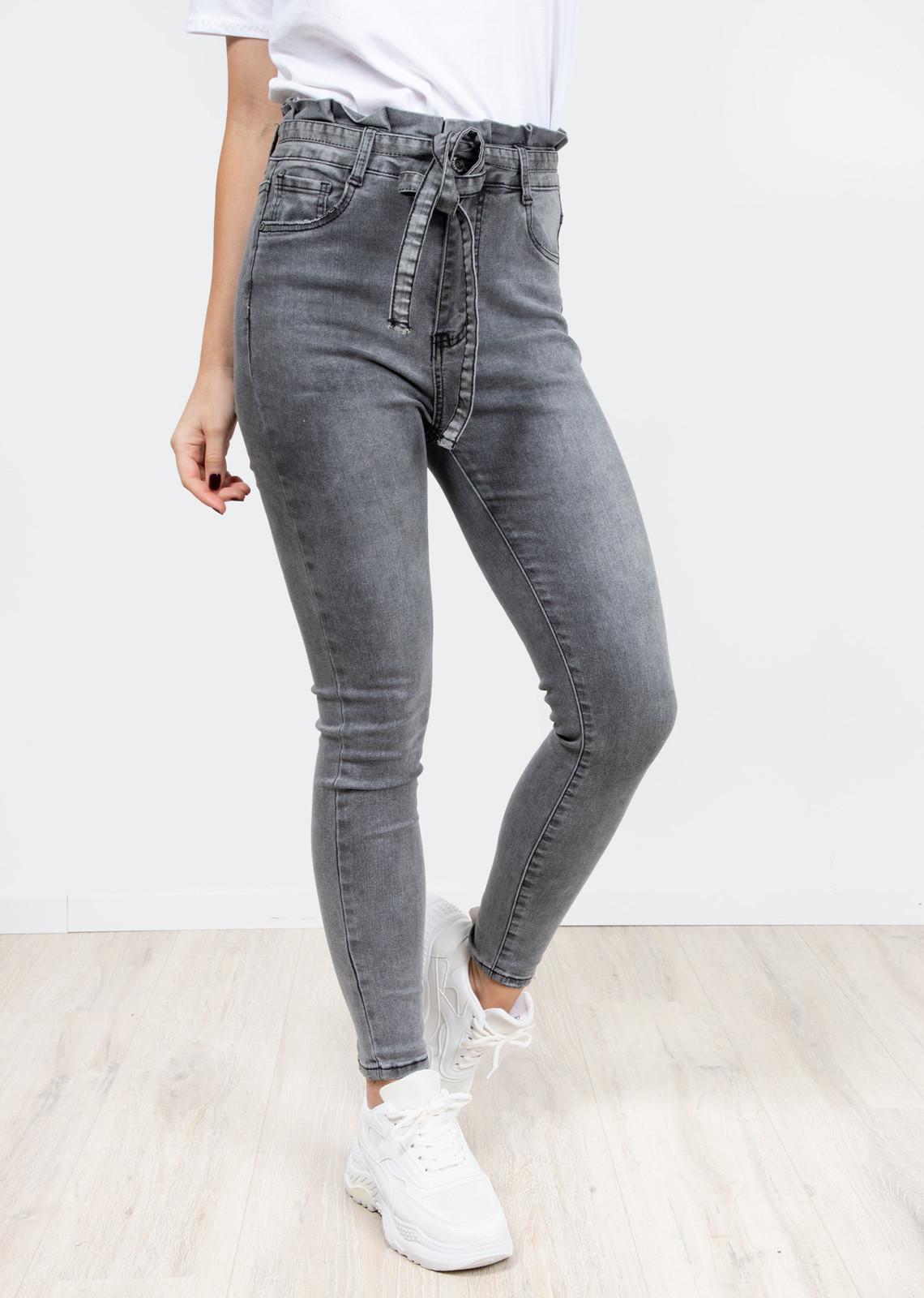 Denim jeans grijs Lina