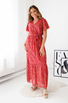 Long dress Anna red