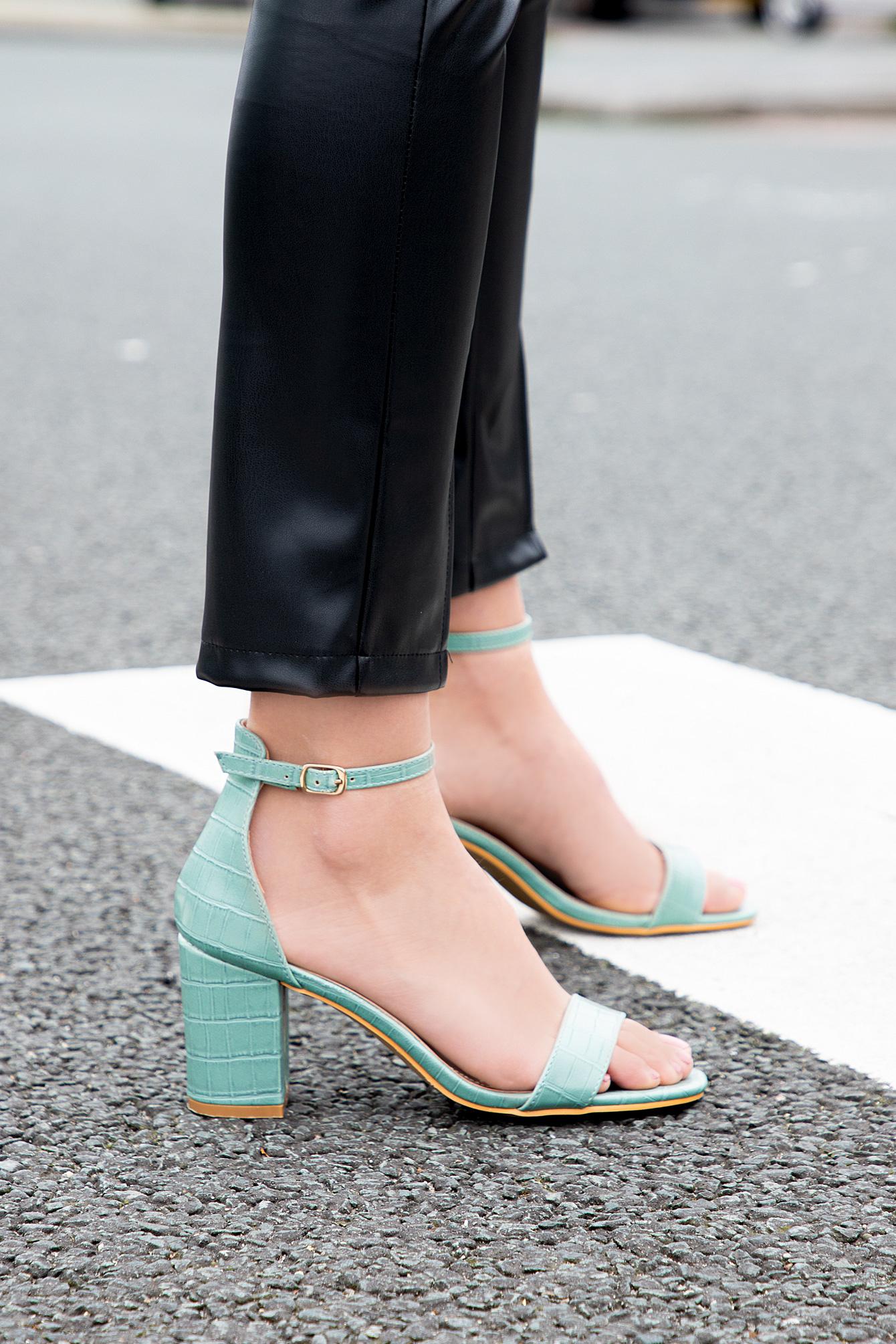 Croco sandaal