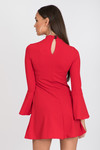 Dress with no stress  red