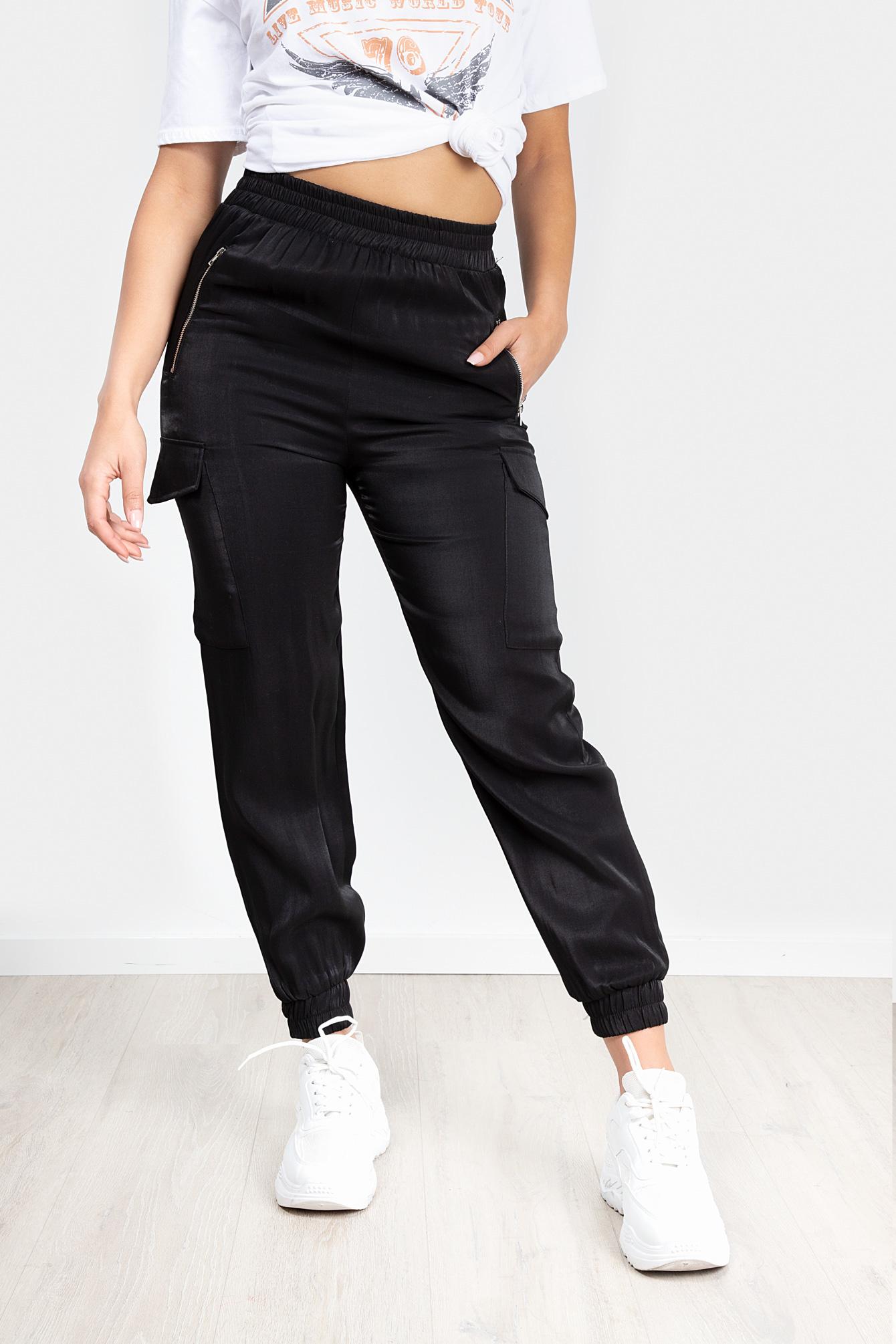 Cargo broek Sienna zwart