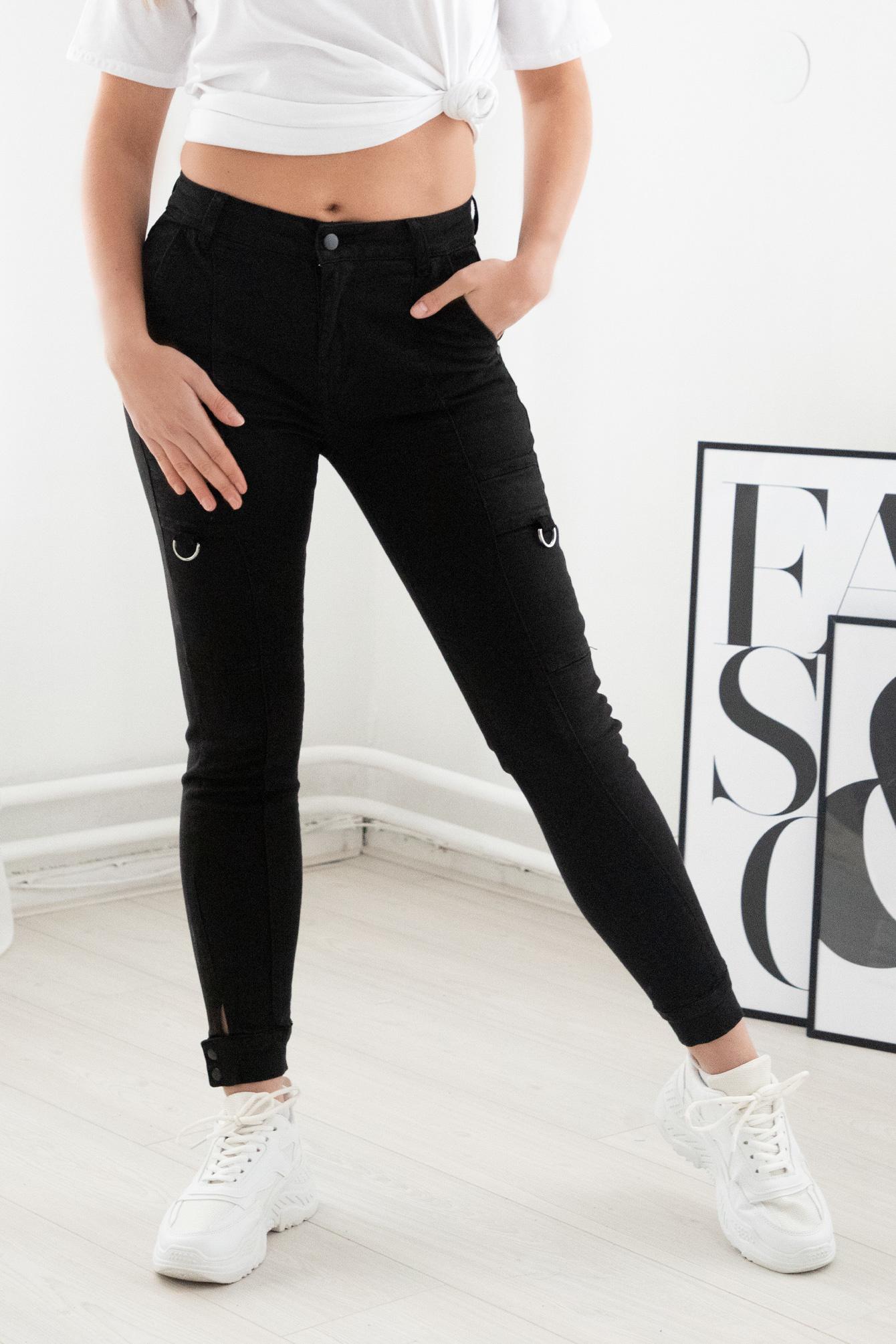 Cargo broek zwart