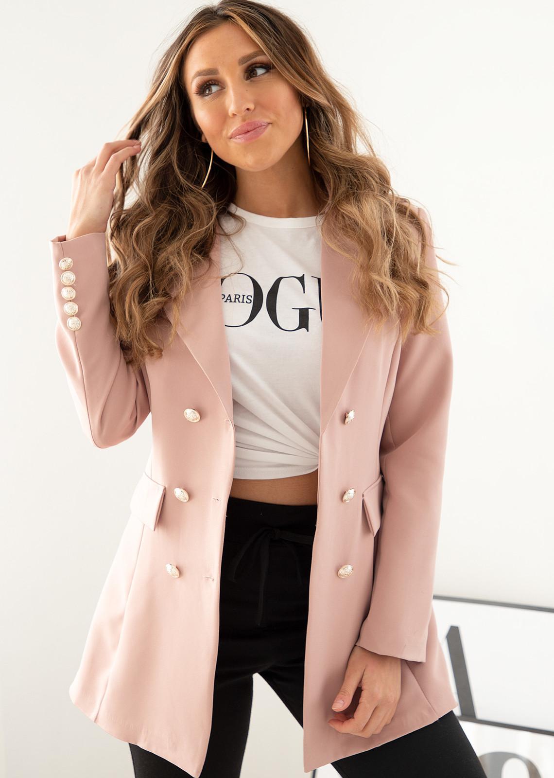 Sara blazer pink