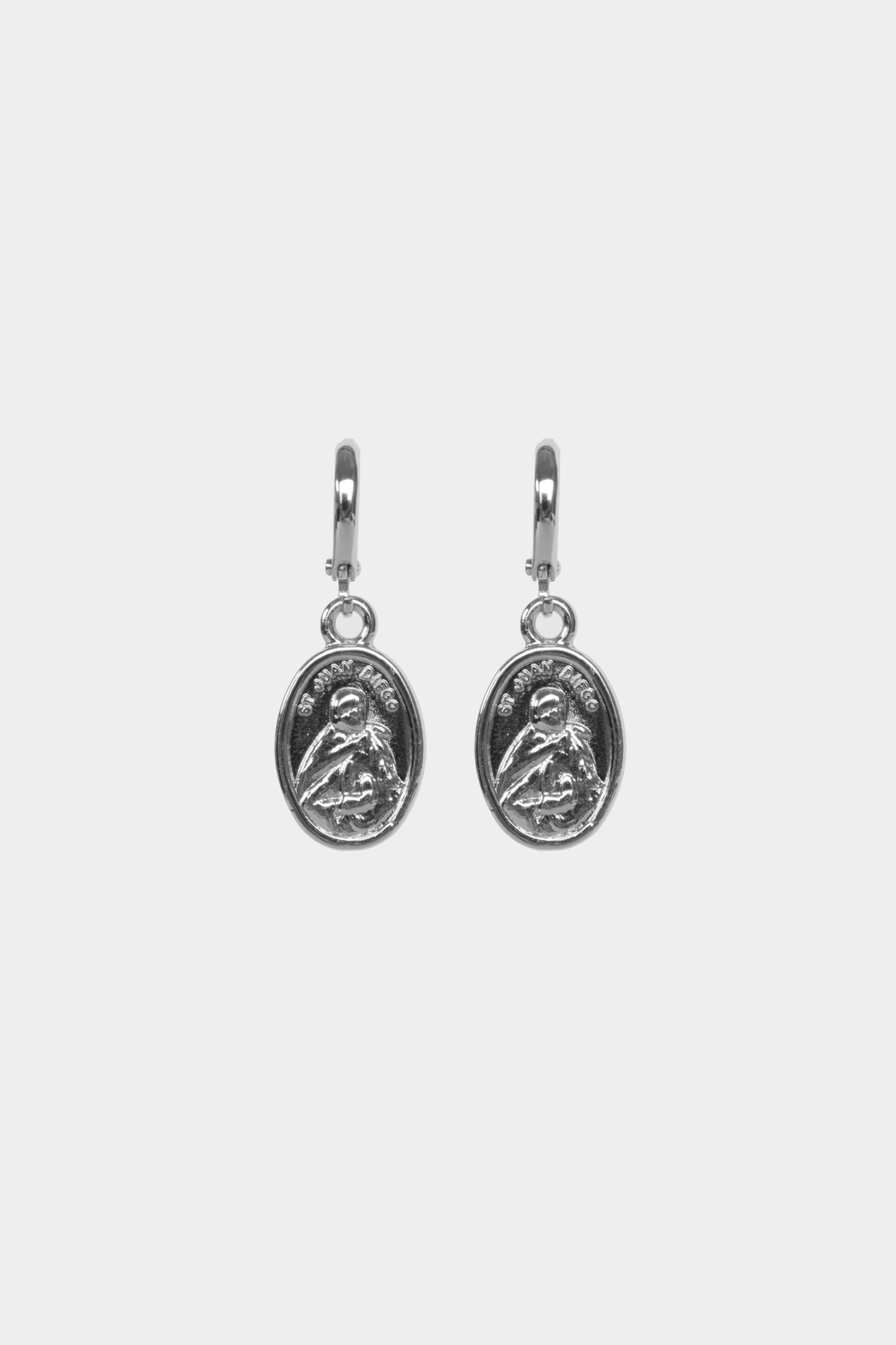 Earring coins silver