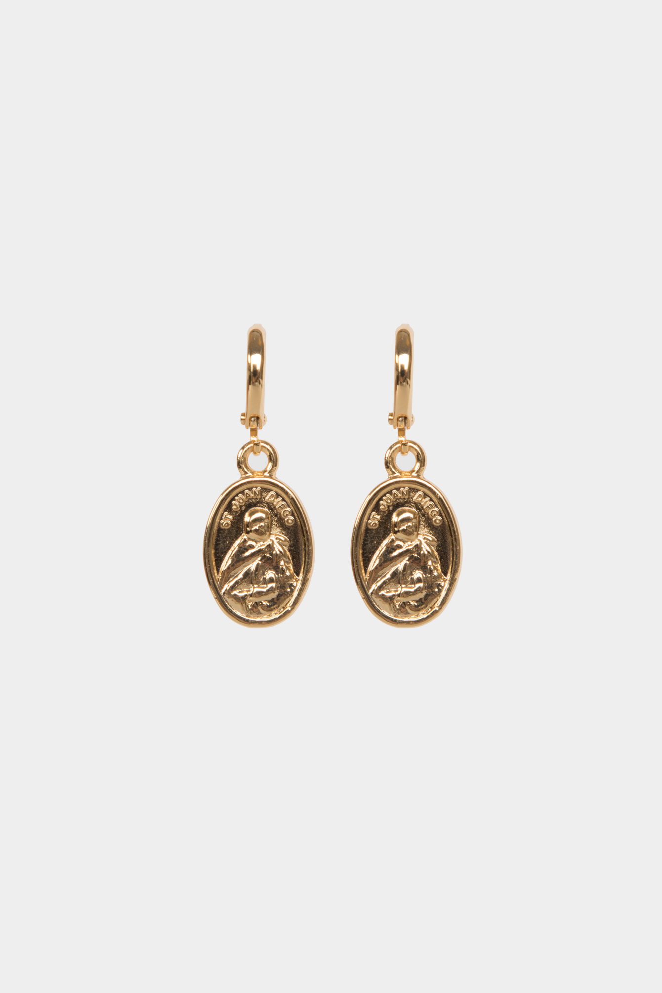 Earring coins gold