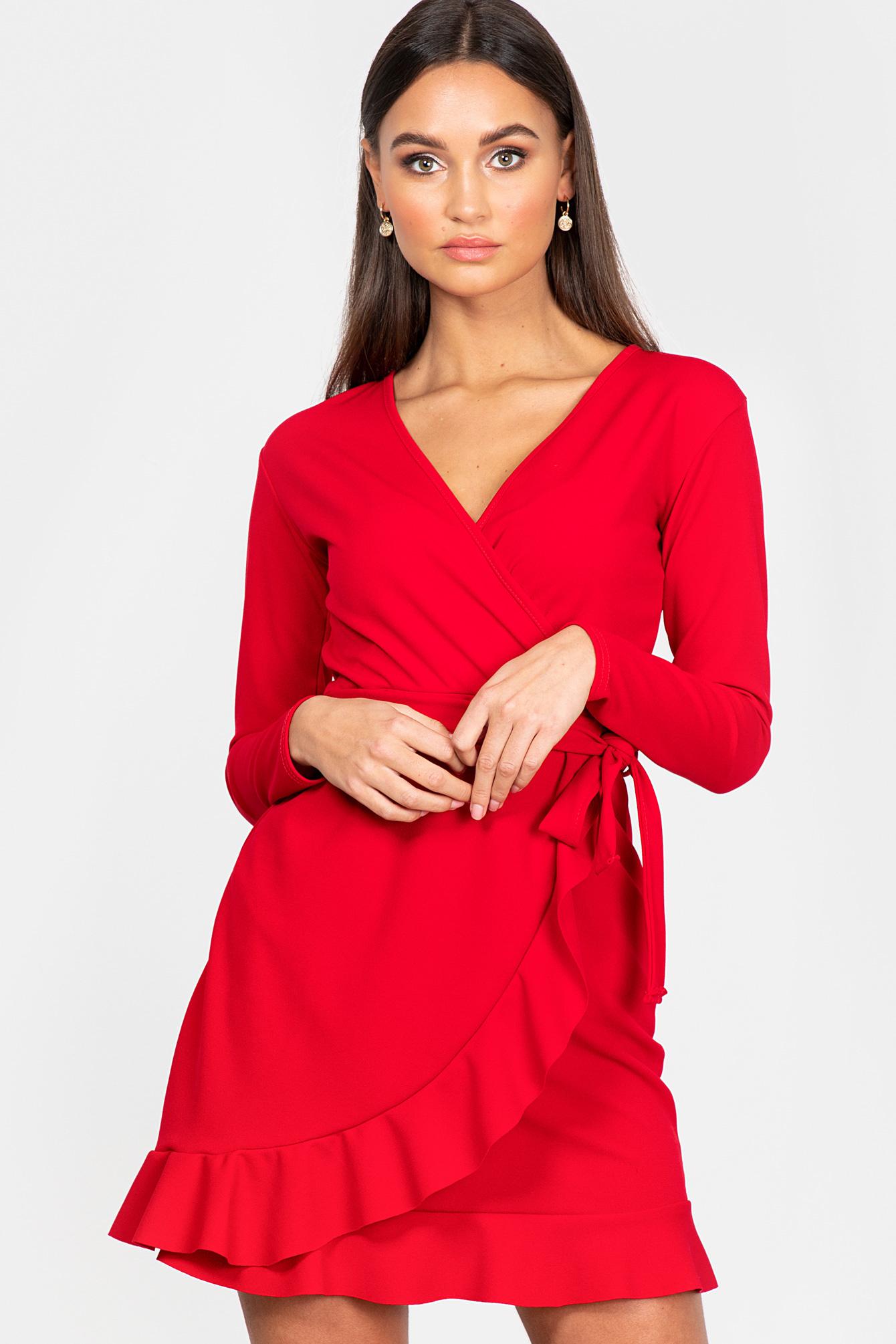 Rood jurkje Selena
