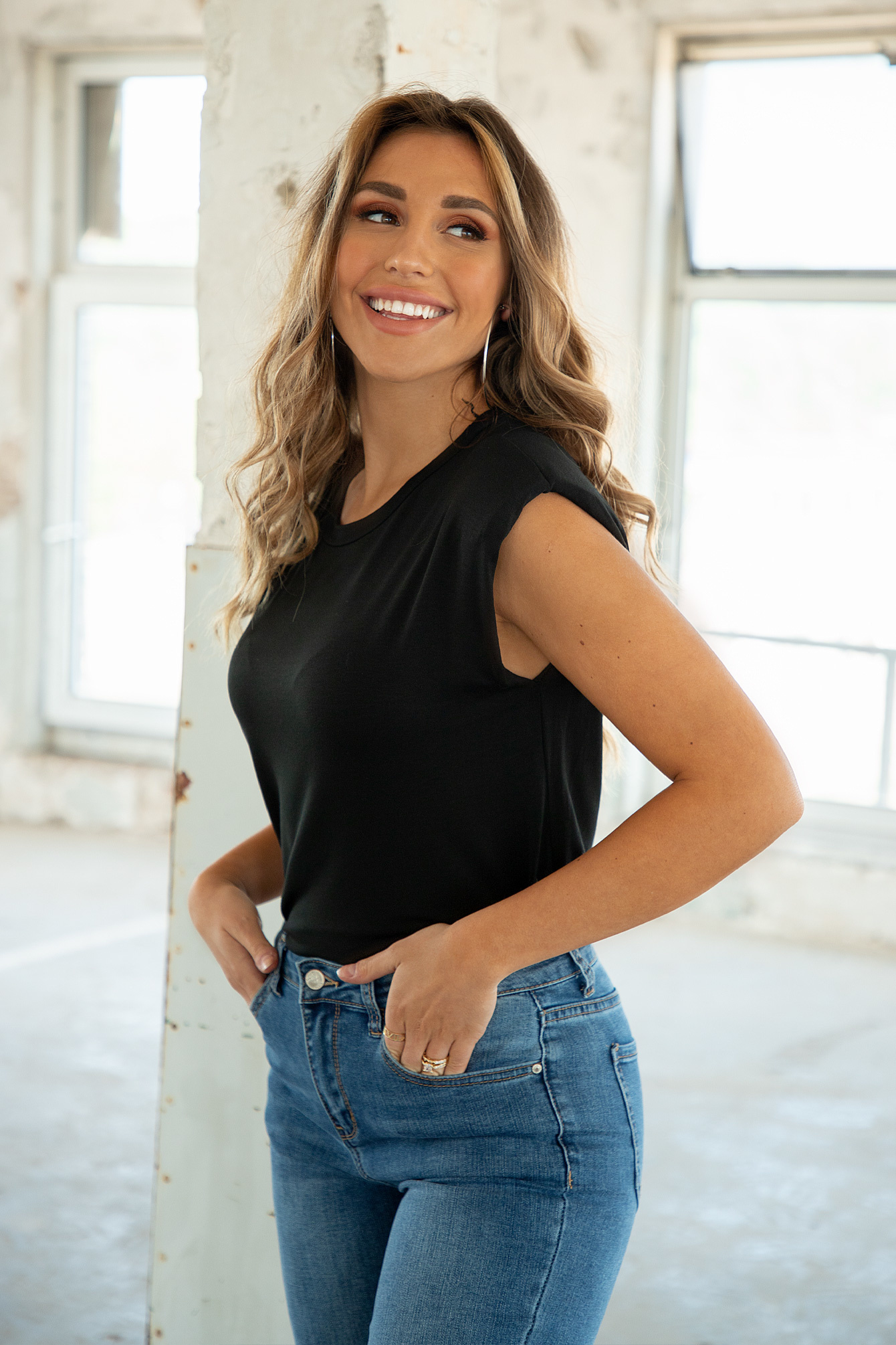 Basic shirt lauren black