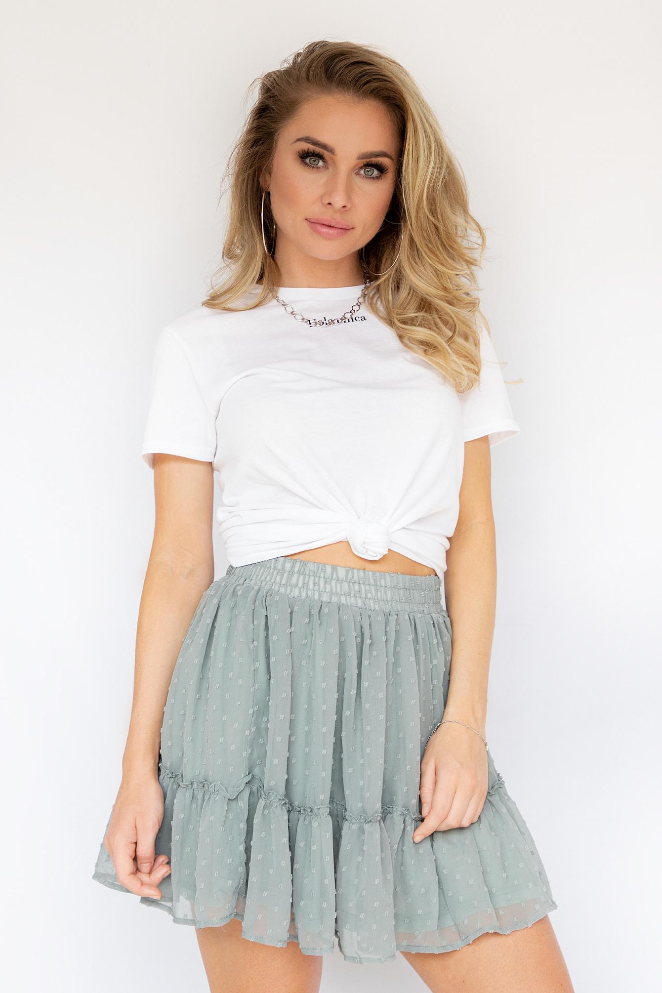 Summer days skirt green