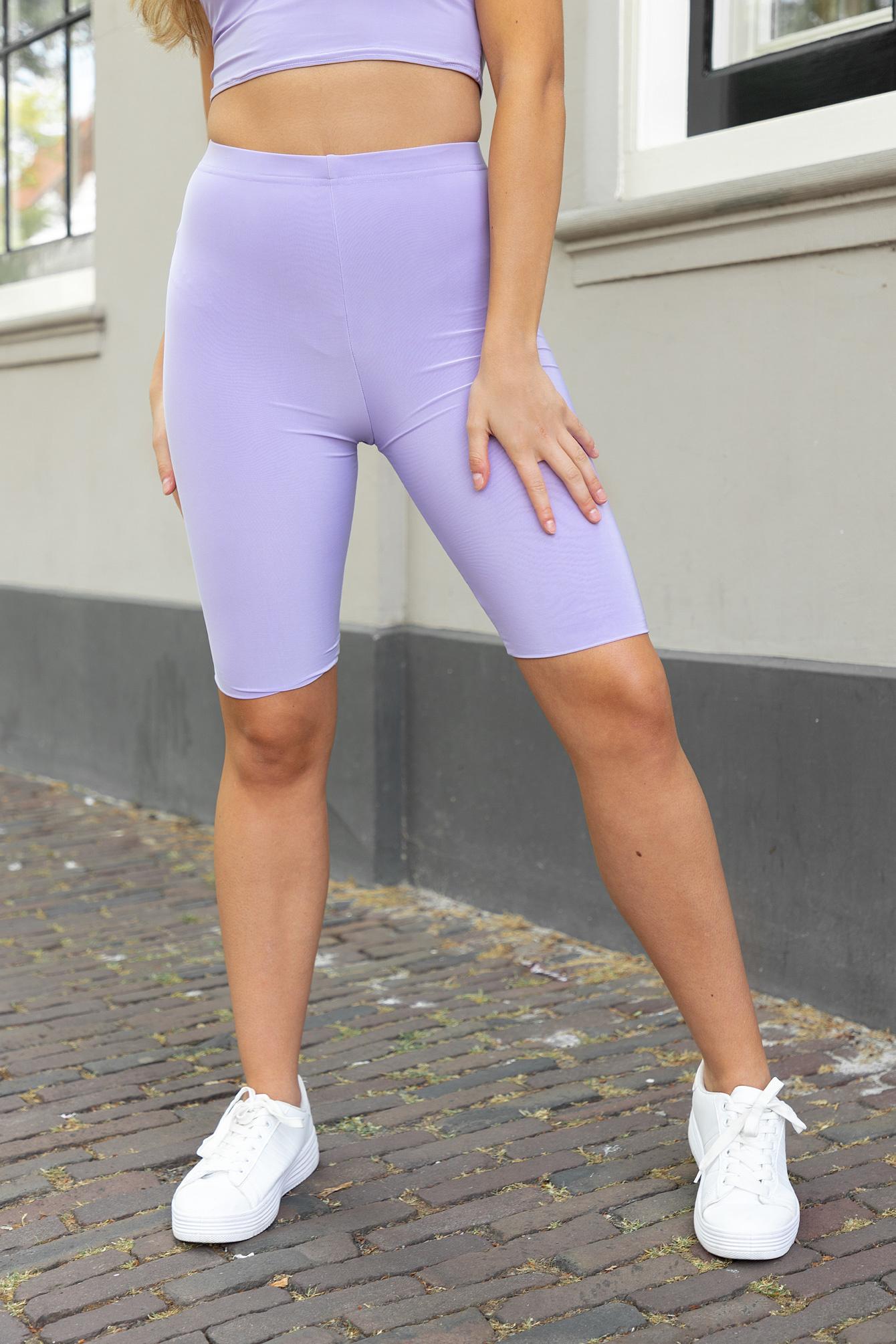 Biker short Kara lila