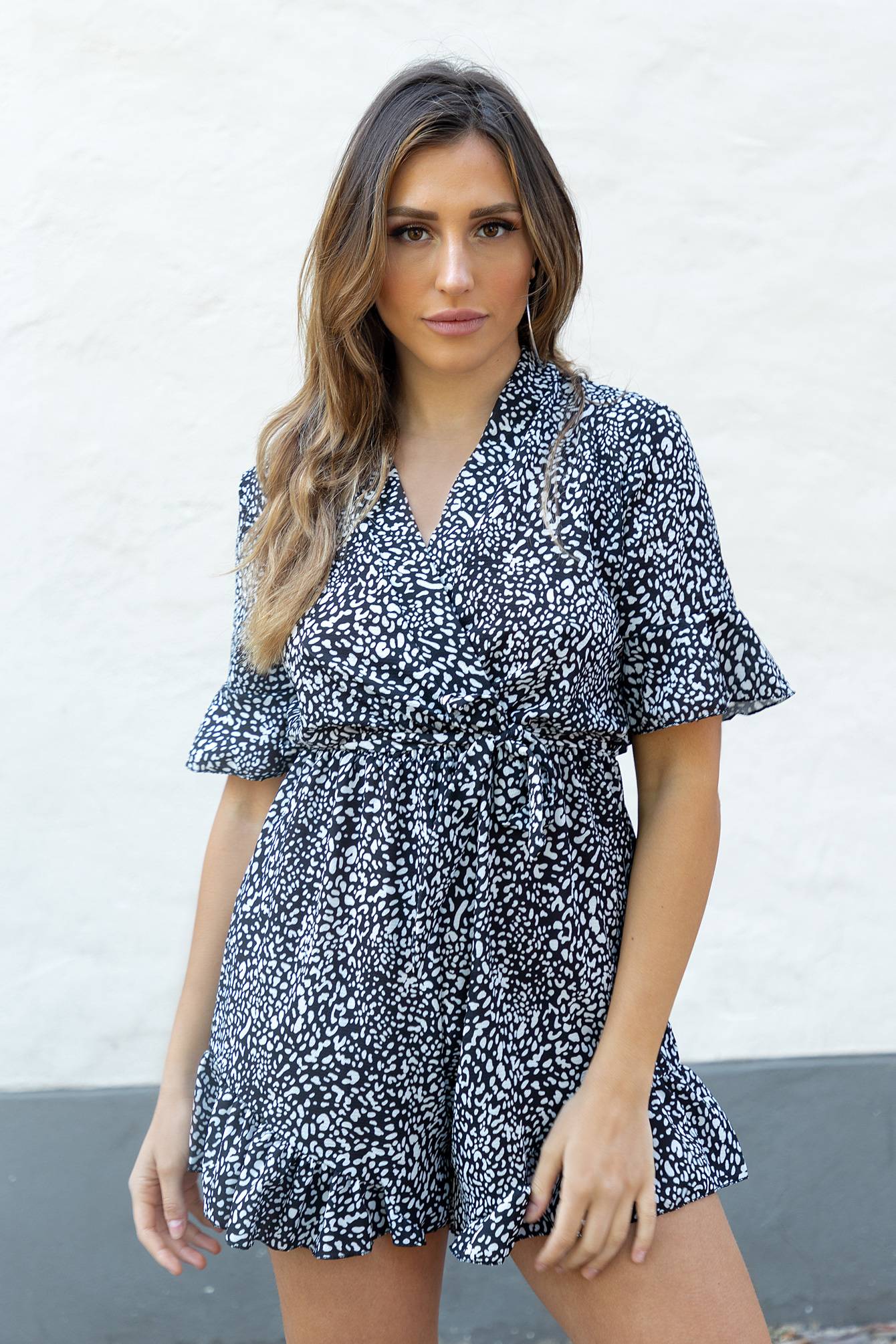 Playsuit Aubree zwart