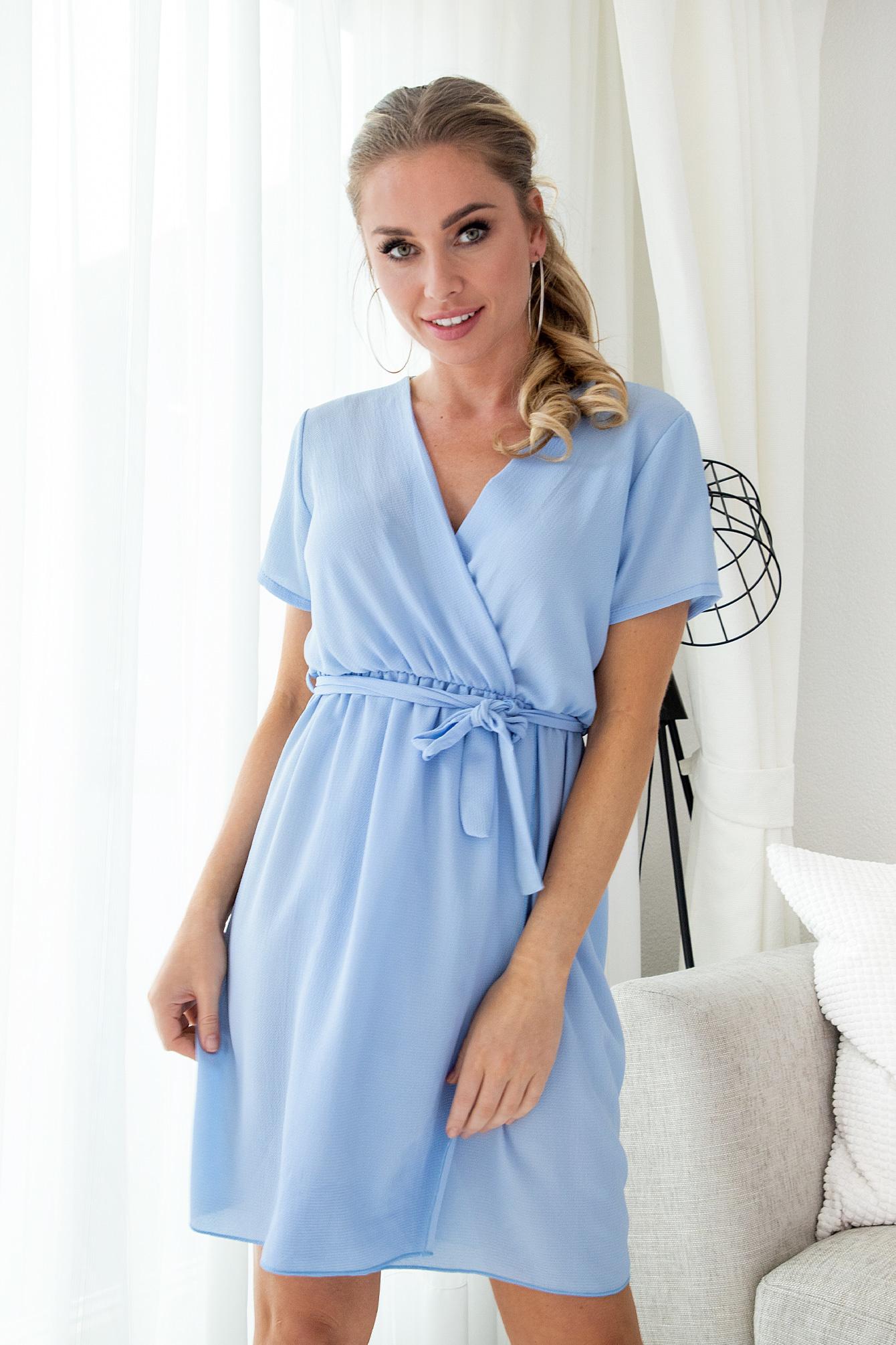 Jurk Chantelle blauw