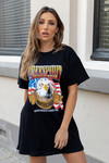 T-shirt dress free spirit
