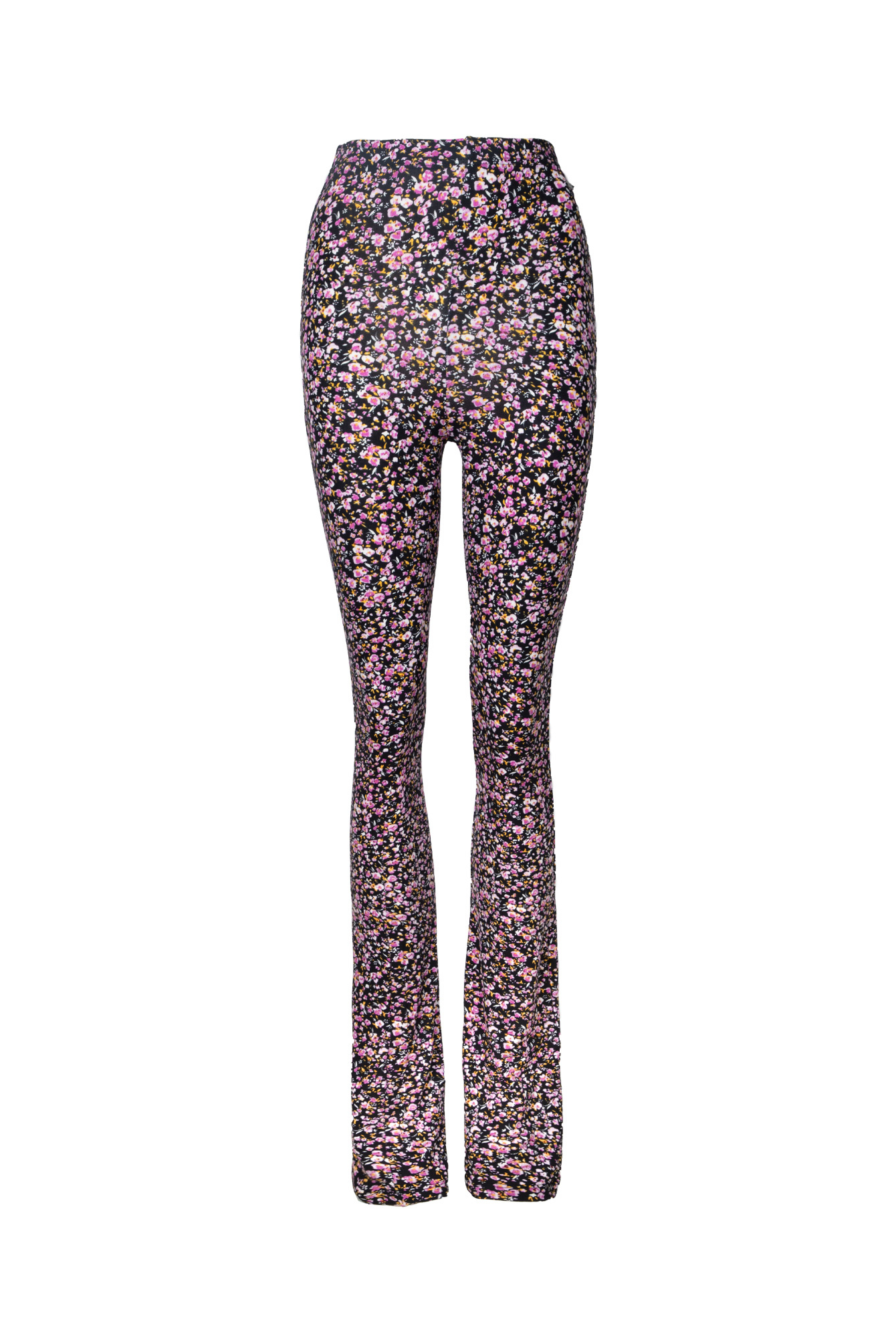 Flower flare pants Denise lila