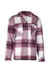 Tartan blouse Clair cherry