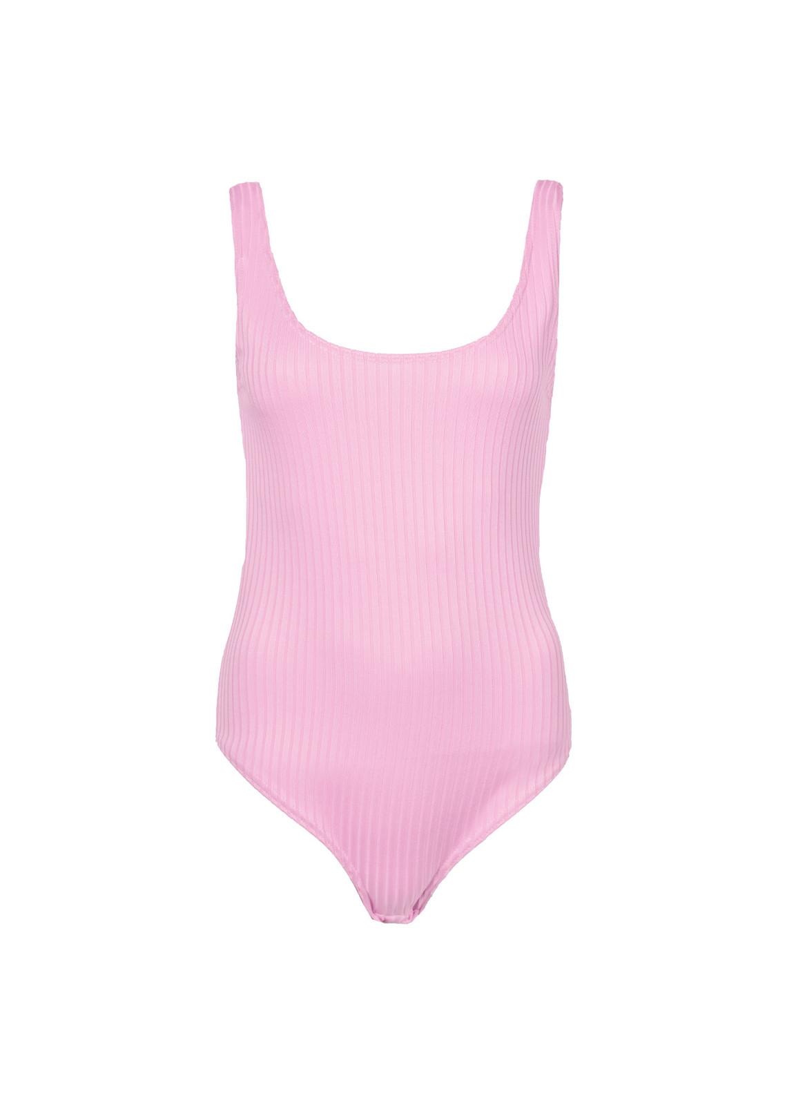Bodytop rib Gilana pink