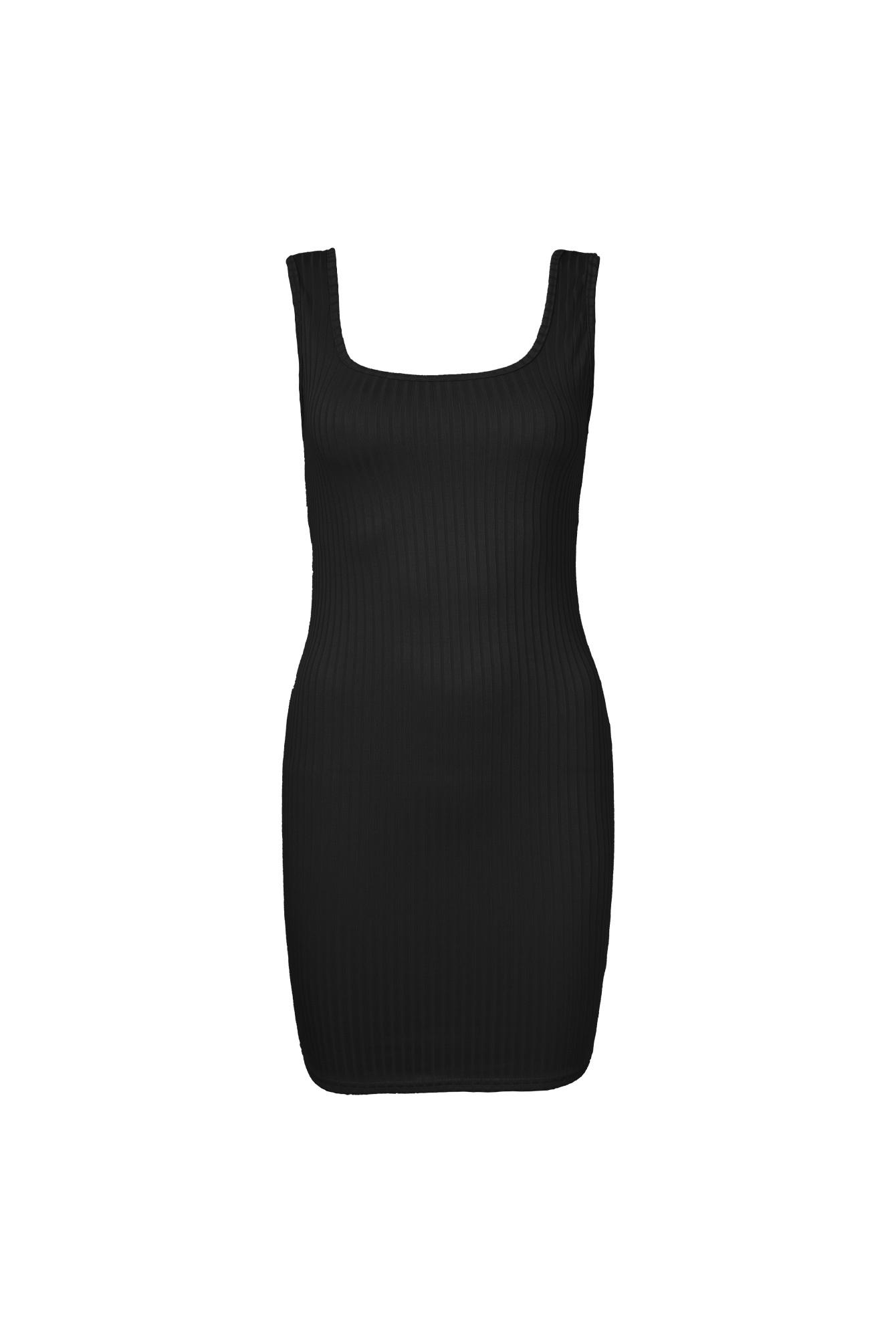 Basic dress Melanie black