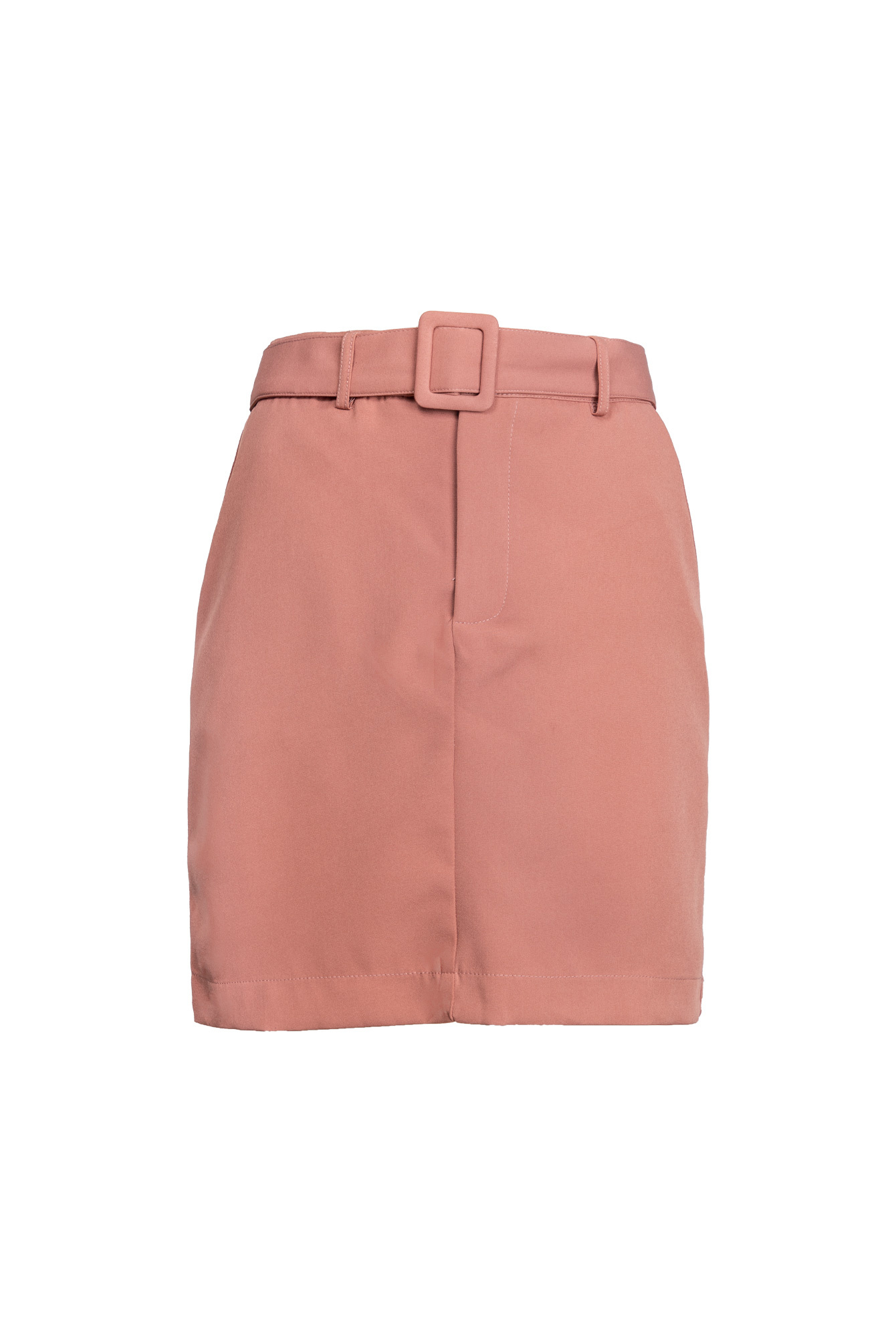 Belted rok pink