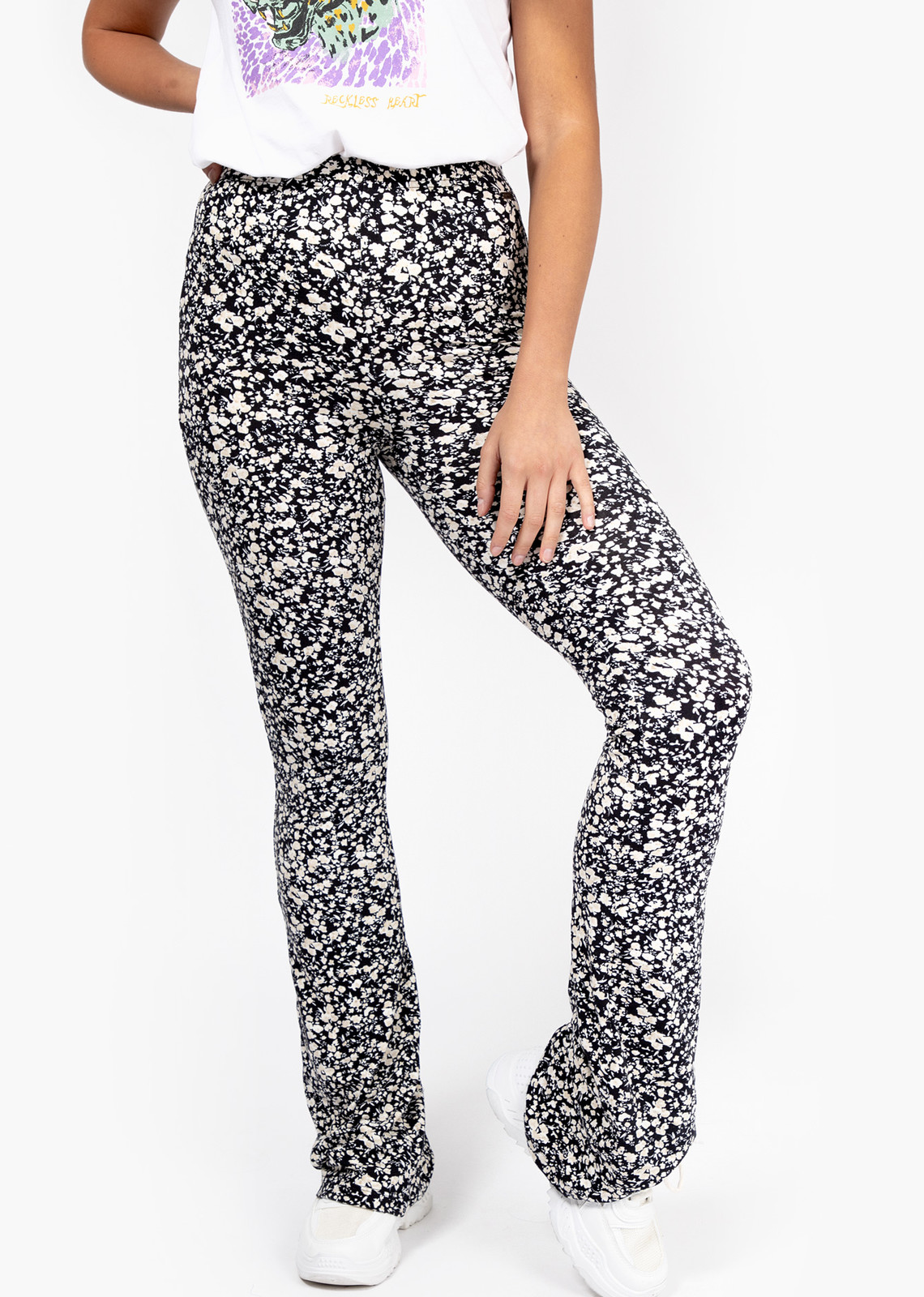 Flower flare pants Denise