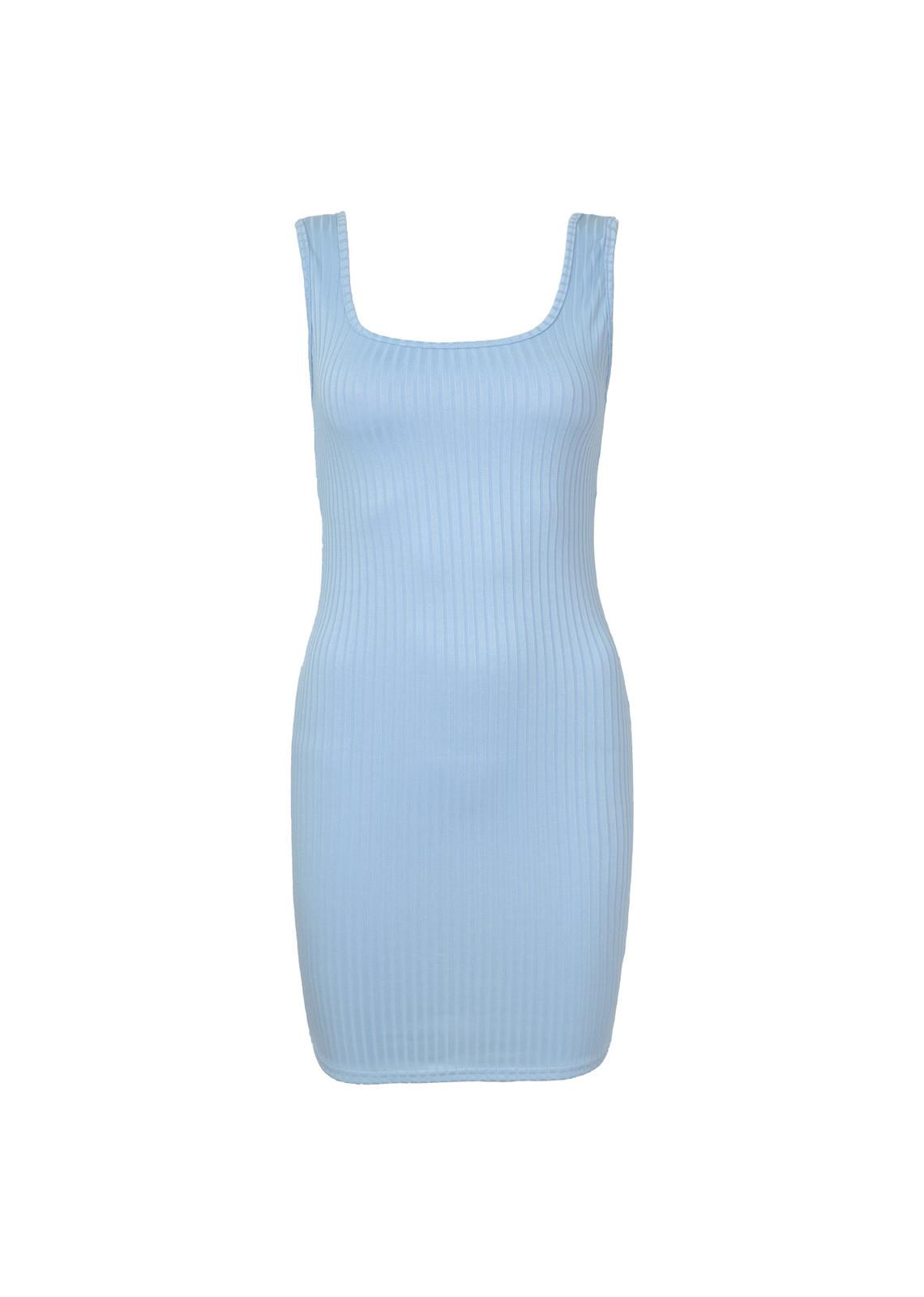 Basic dress Melanie blue