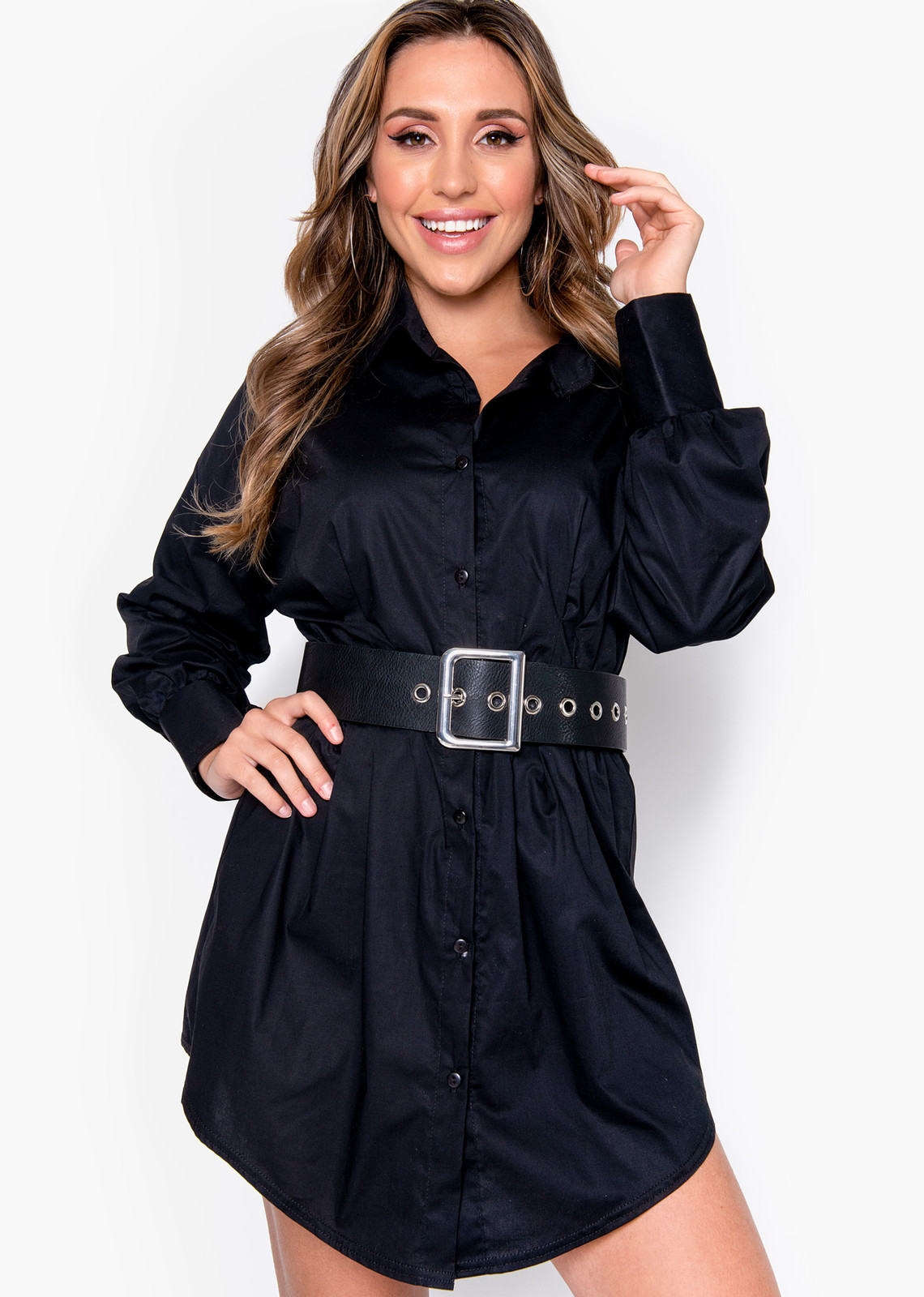 Blouse dress Mya black