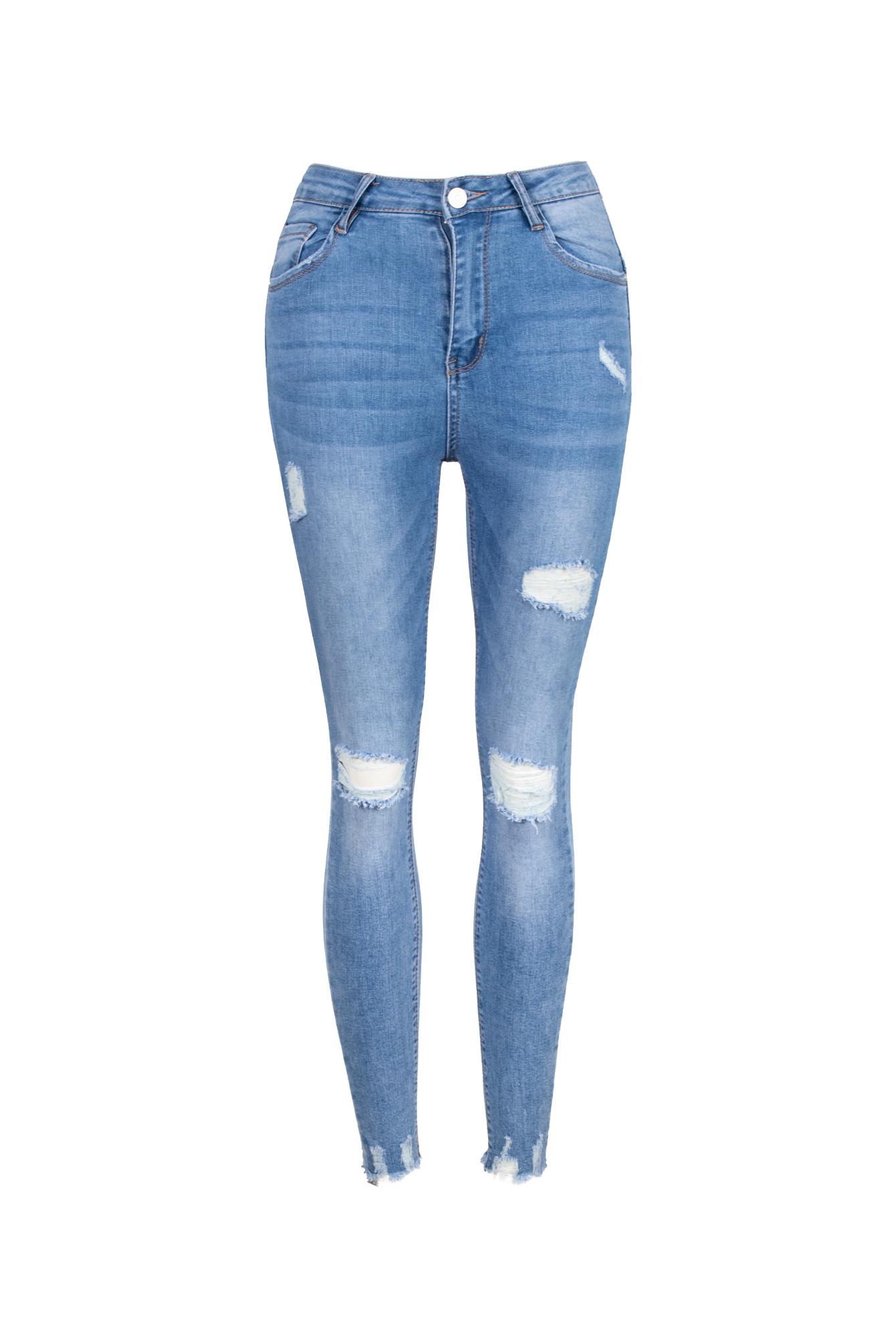 Skinny jeans Tifanny blue