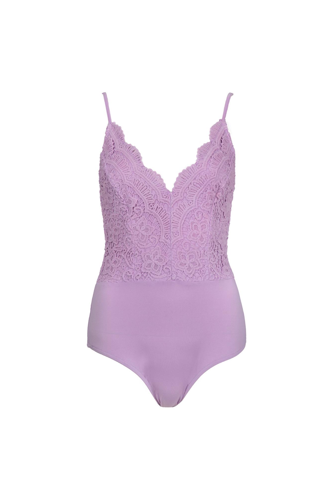 Body top lila