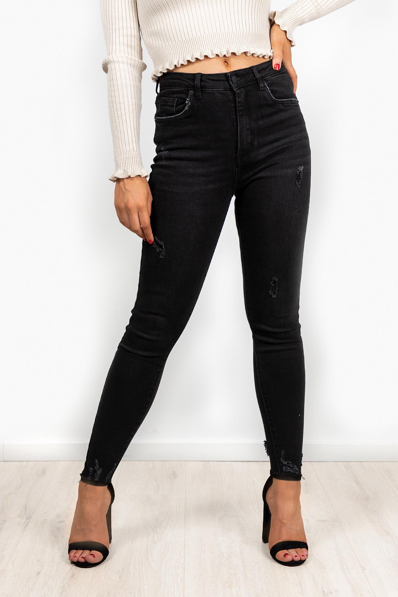 Denim jeans Veronique zwart