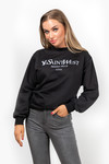 Sweater Ye Love black