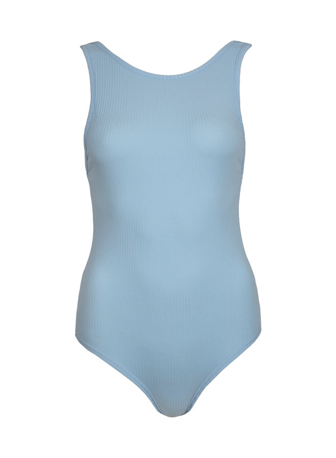 Body top Erika blauw