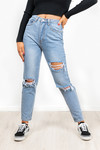 Cut out jeans Brianna