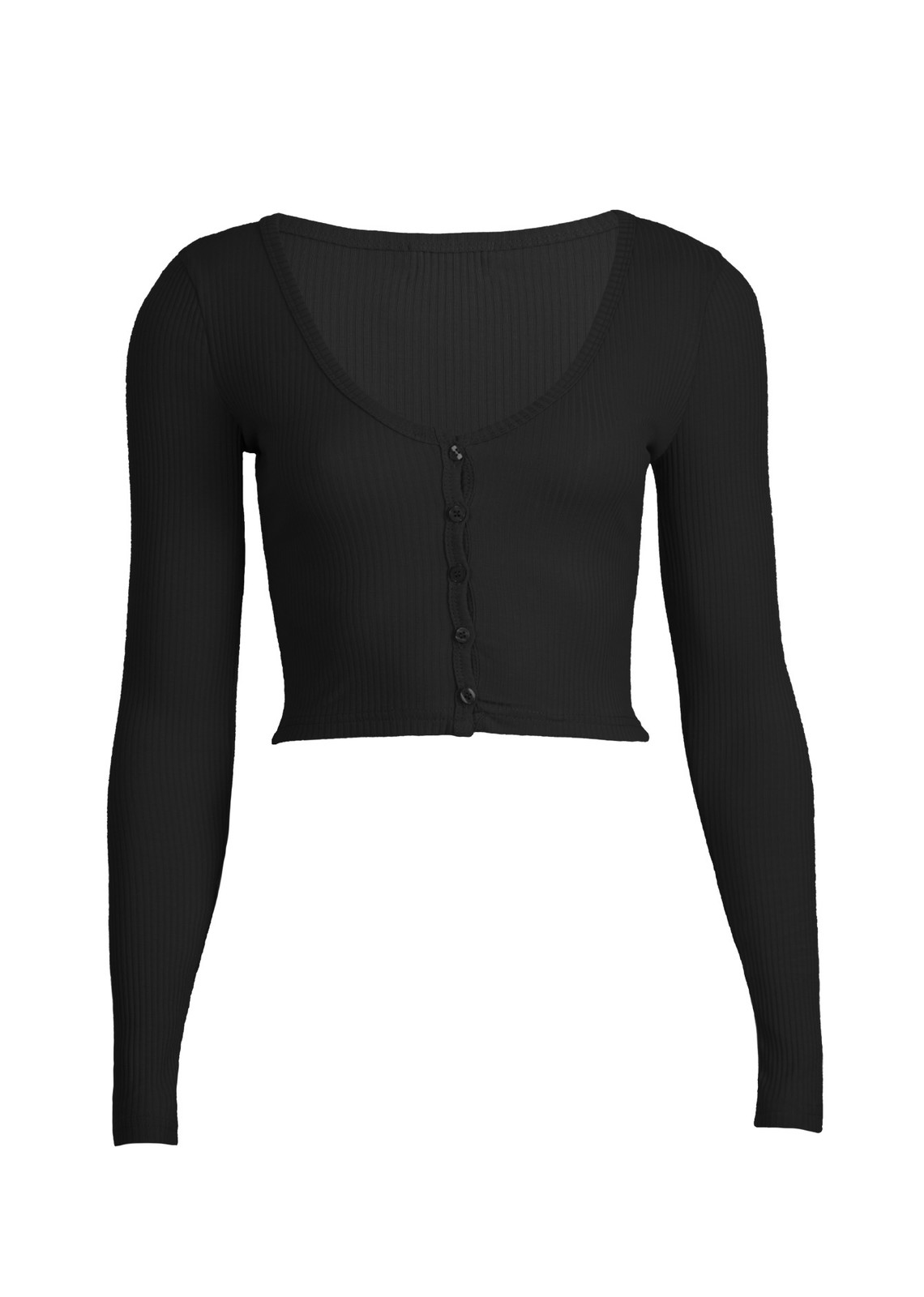 Basic top Sally zwart