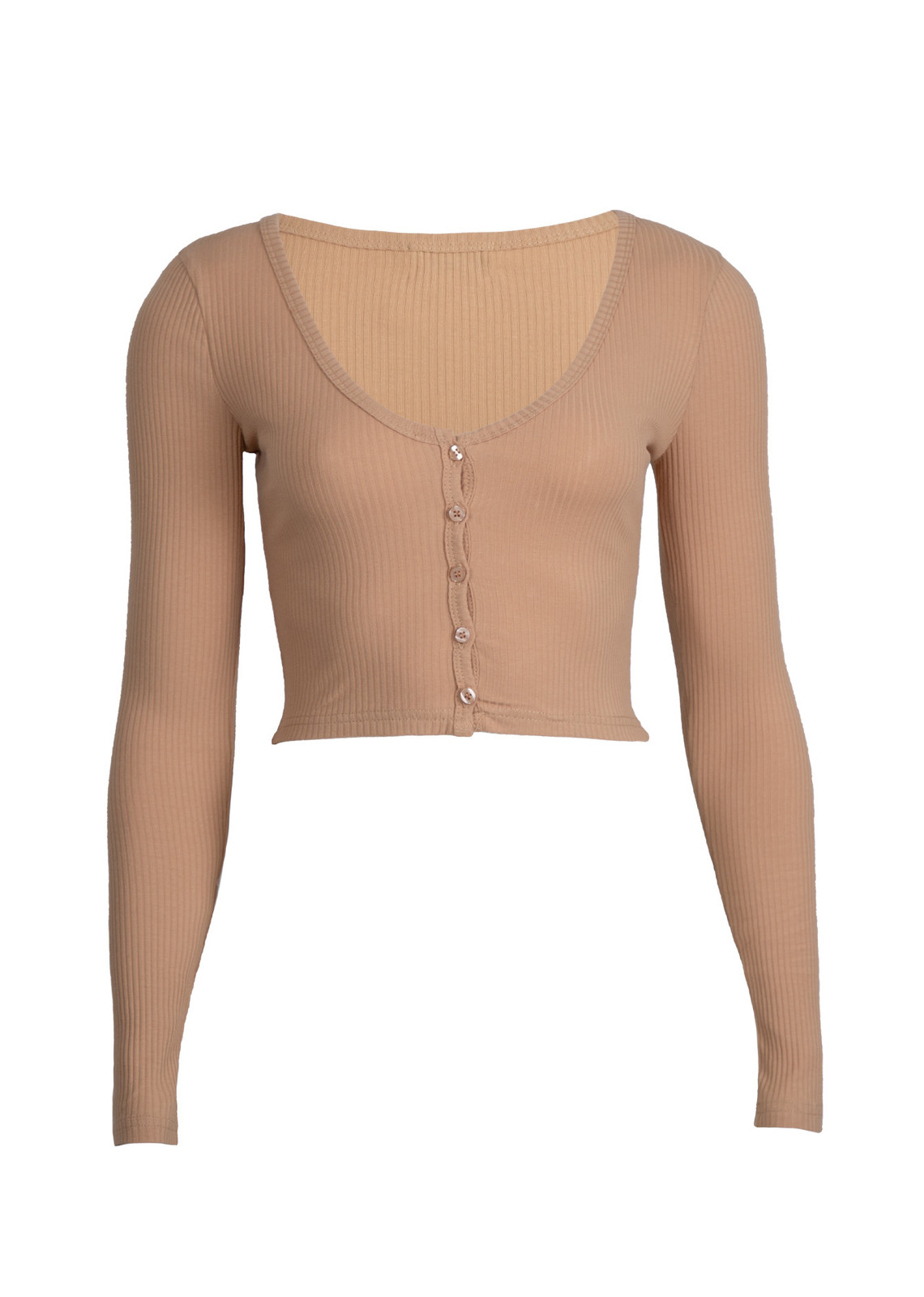 Basic top Sally beige