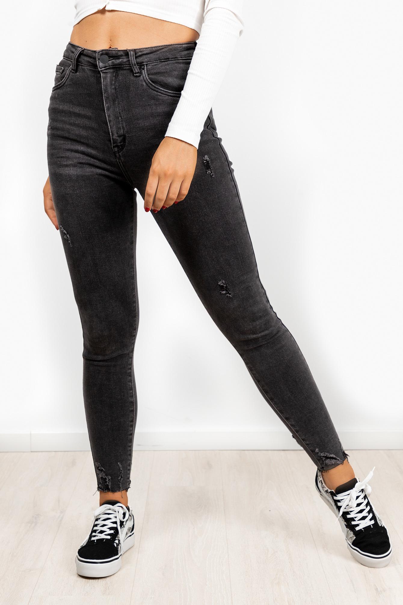 Denims jeans Joelle donkergrijs