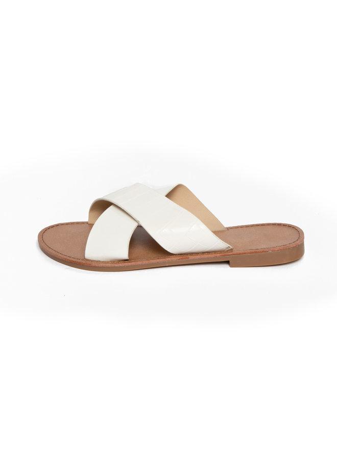 Sandaal Amara white