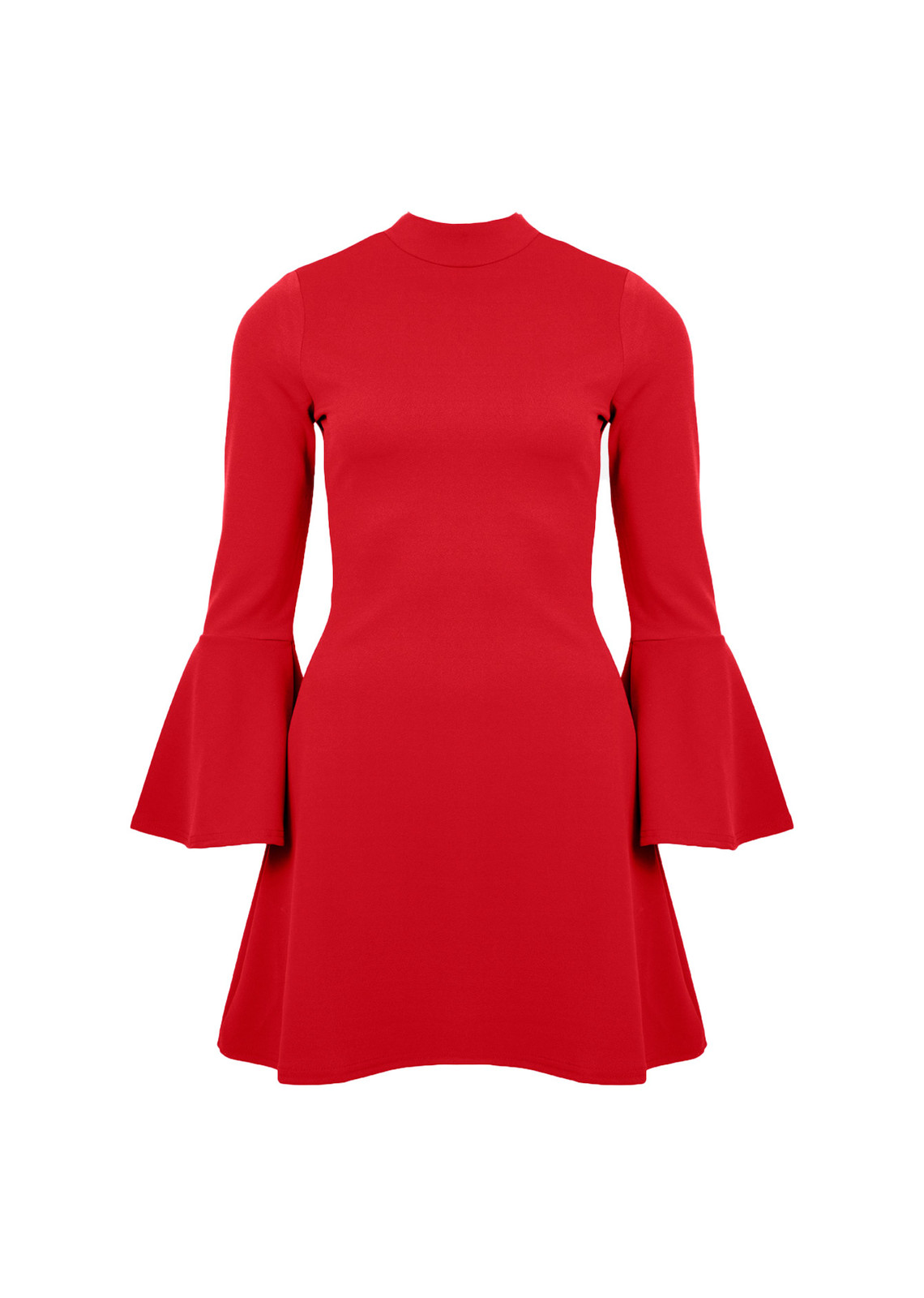 Dress with no stress rood