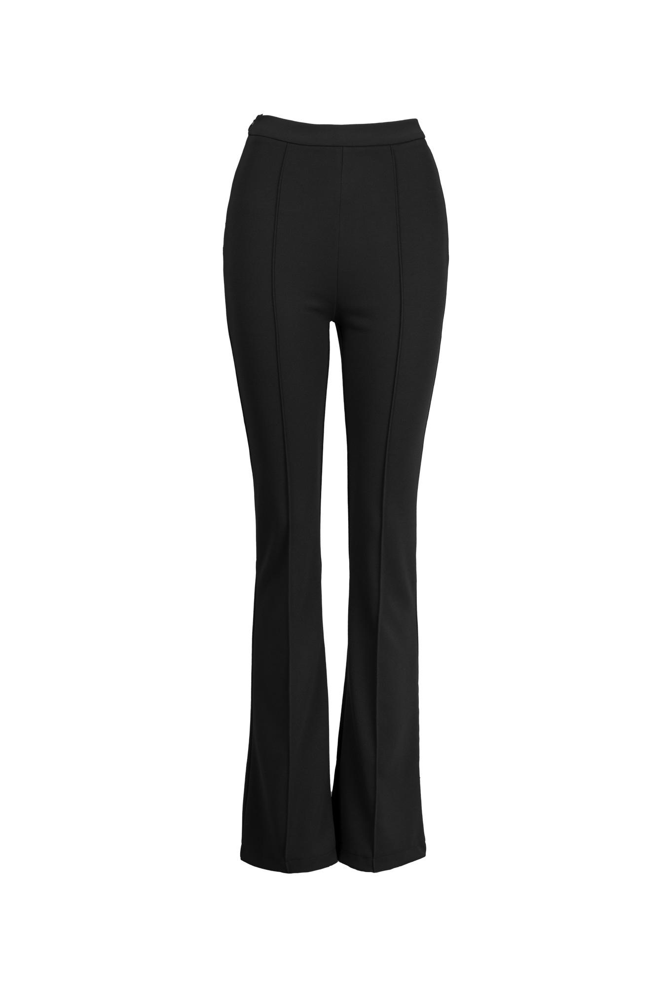 Flare broek Everly zwart