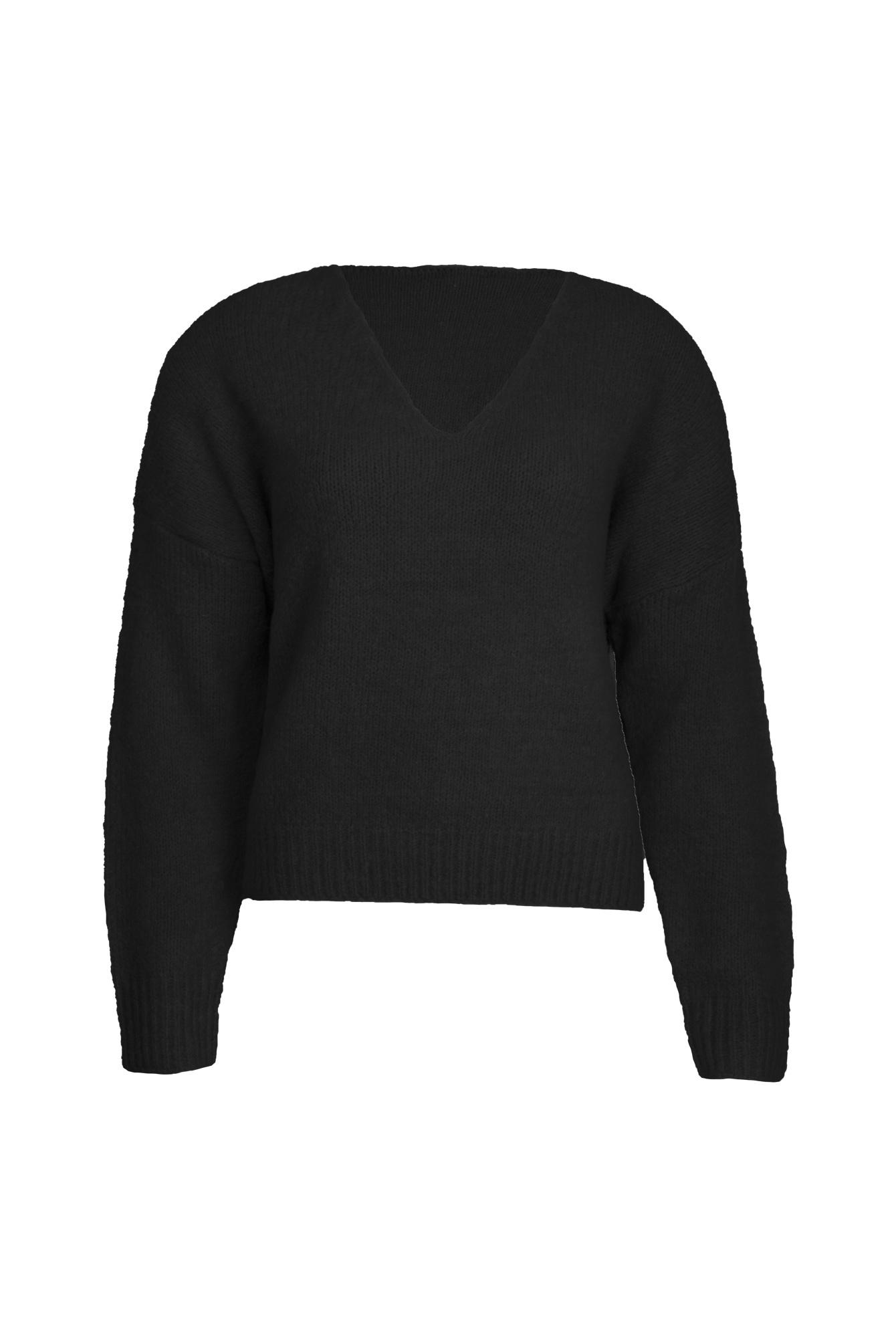 Cozy sweater zwart