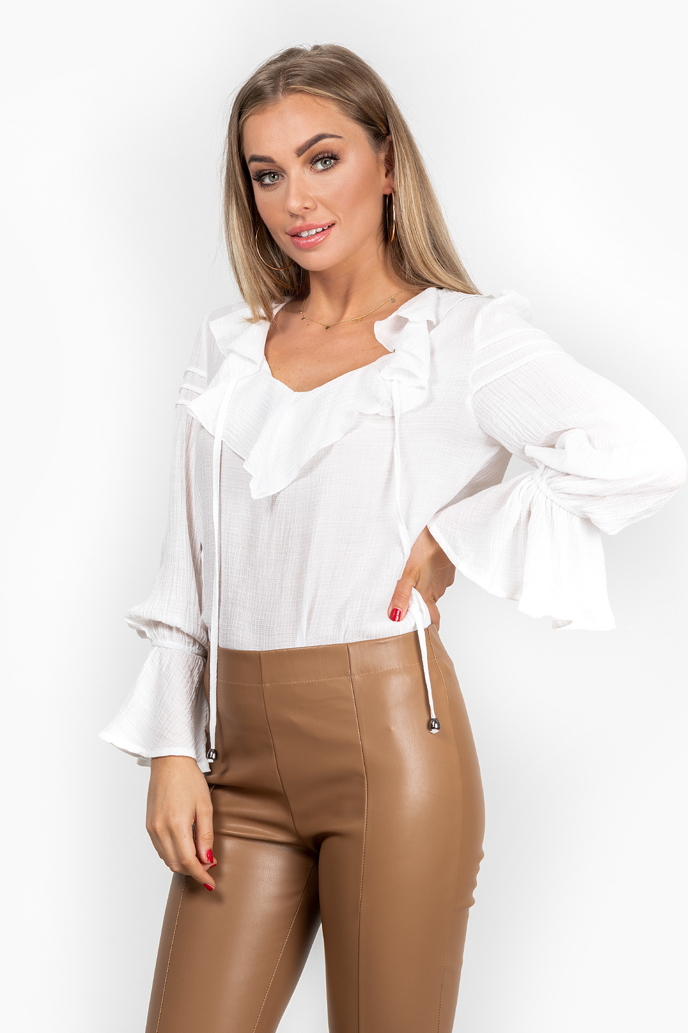 Blouse Hanna wit