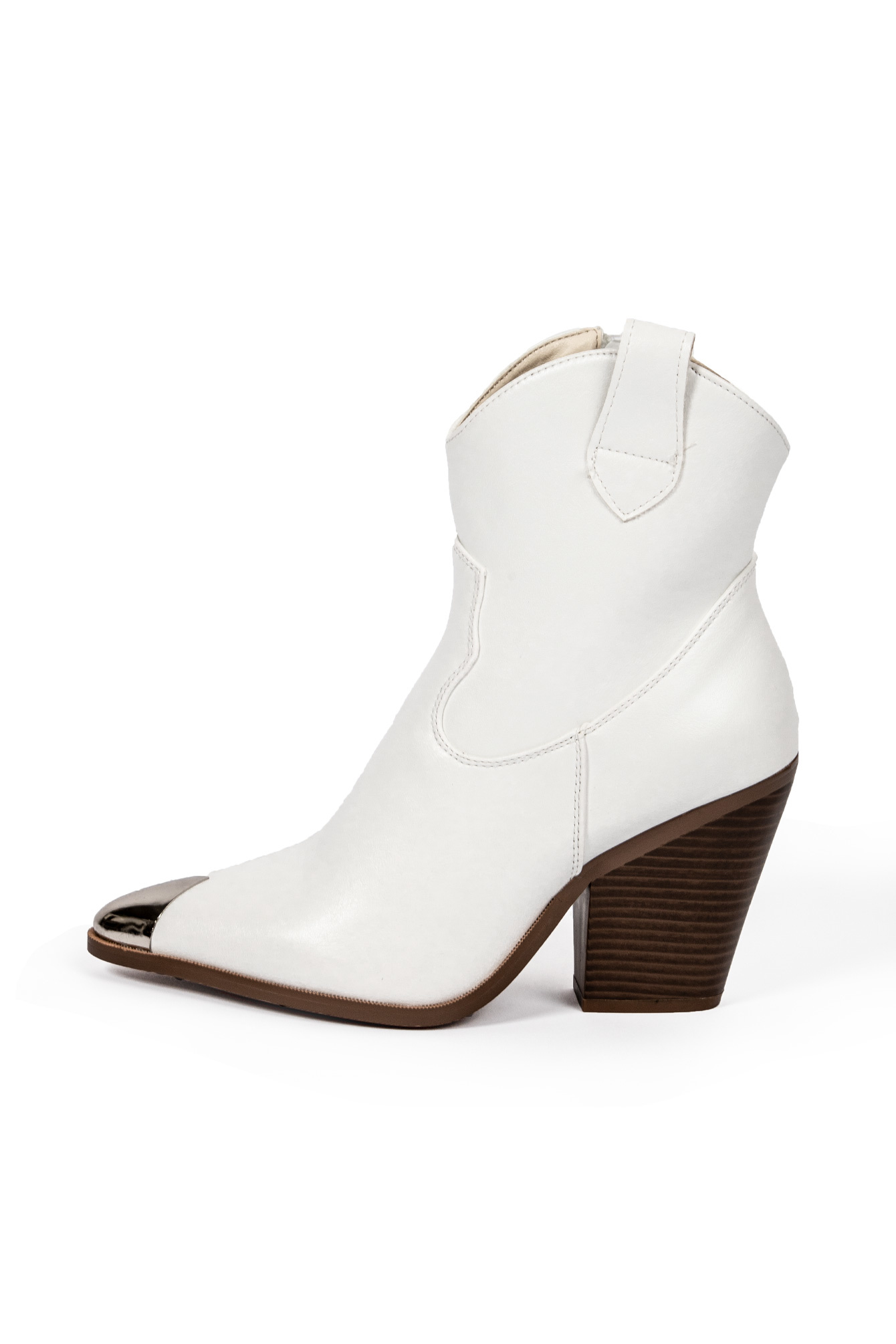 Cowboy boots Sally wit