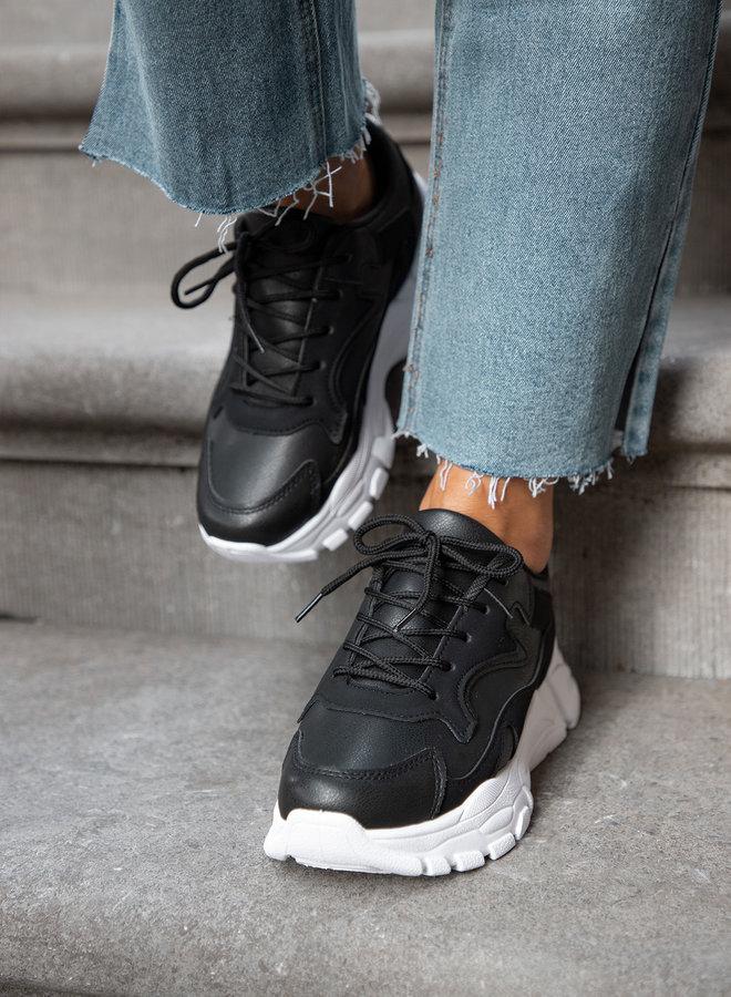 Dad sneaker Leana zwart
