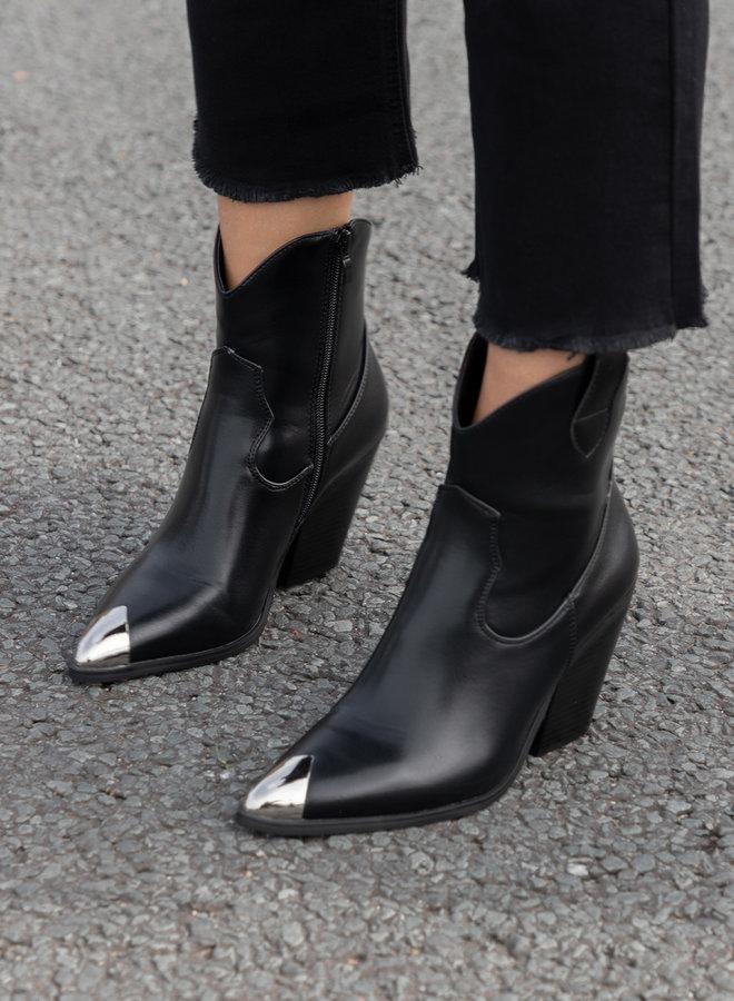 Cowboy boots Sally zwart