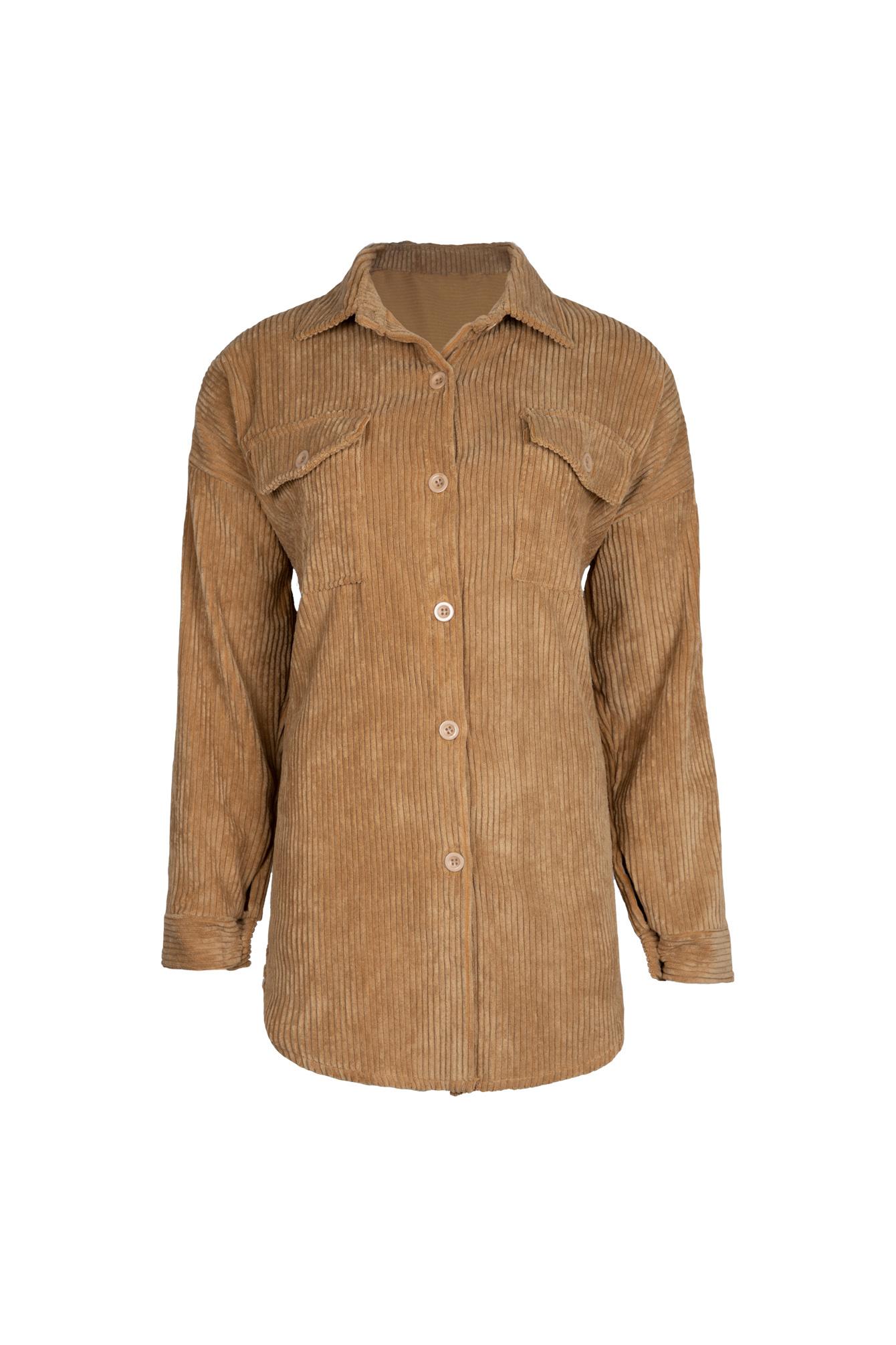 Rib blouse Sammy camel