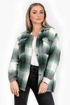 Tartan blouse Ruby groen