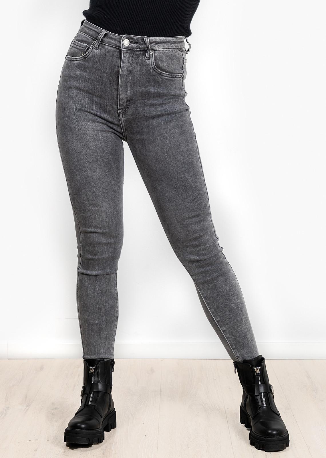 Skinny jeans Lucy grijs
