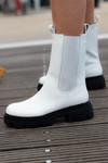 Chelsea boots Karin wit